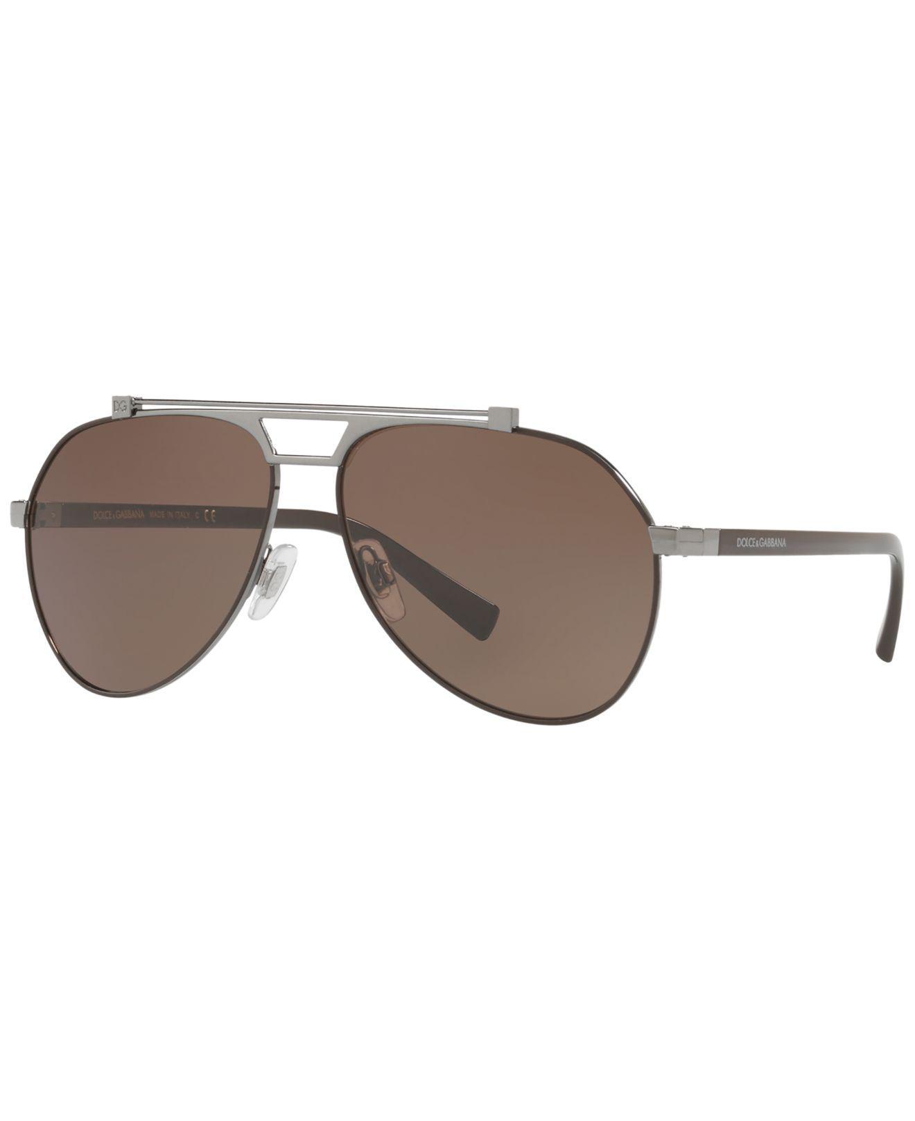 f778c4f0c77 Dolce   Gabbana. Men s Brown Sunglasses ...