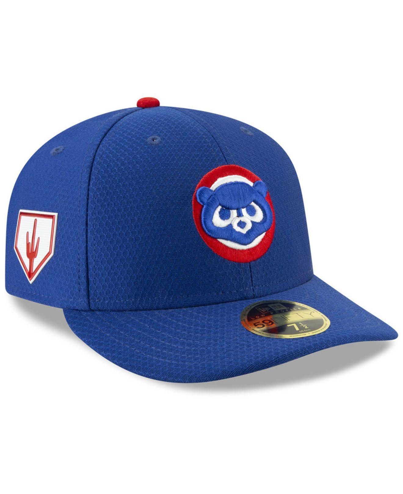 Lyst - KTZ Chicago Cubs Spring Training 59fifty-fitted Low Profile ... 507e40e8658c
