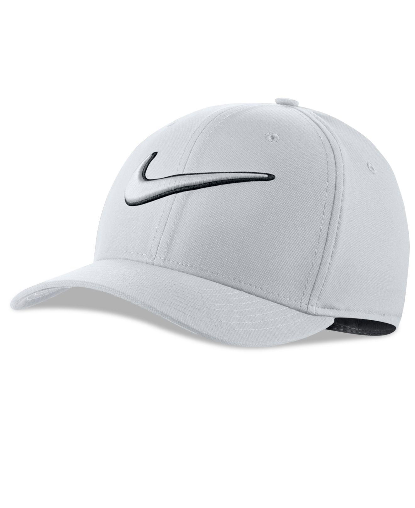 d96889b6c Nike White Men's Classic99 Dri-fit Golf Hat for men