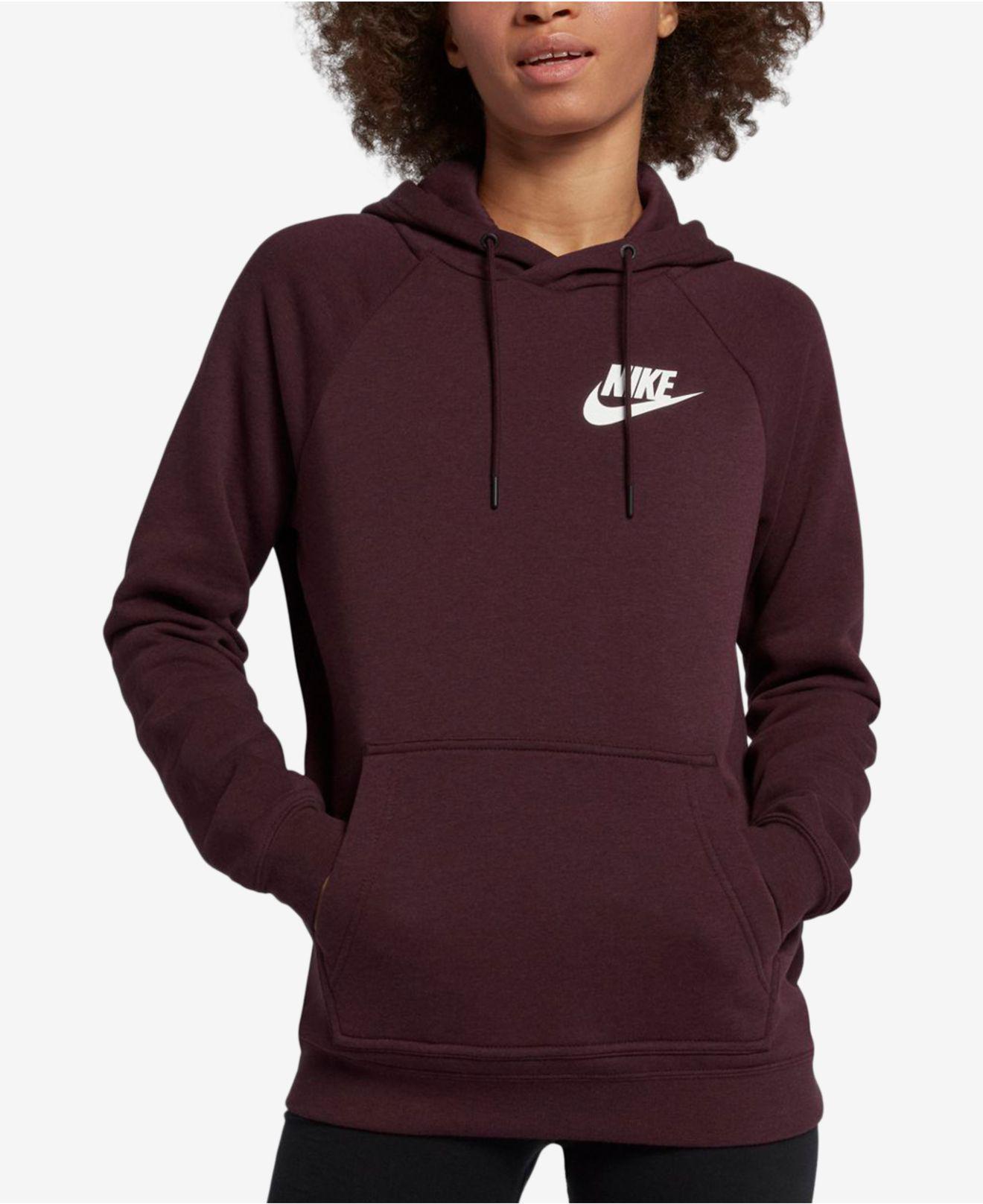 97dc37ba52053 Lyst - Nike Sportswear Rally Hoodie in Purple