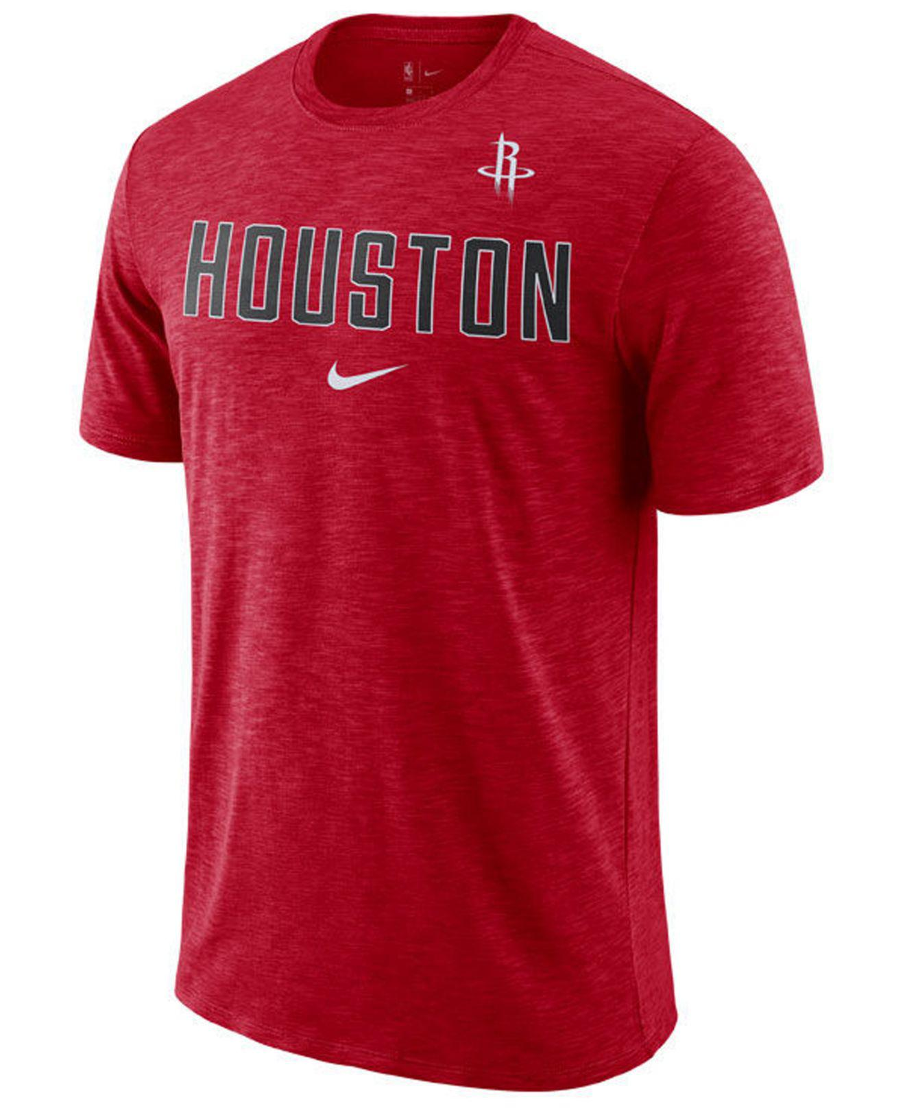 Lyst - Nike Houston Rockets Essential Facility T-shirt in Red for Men 9f54f32ed