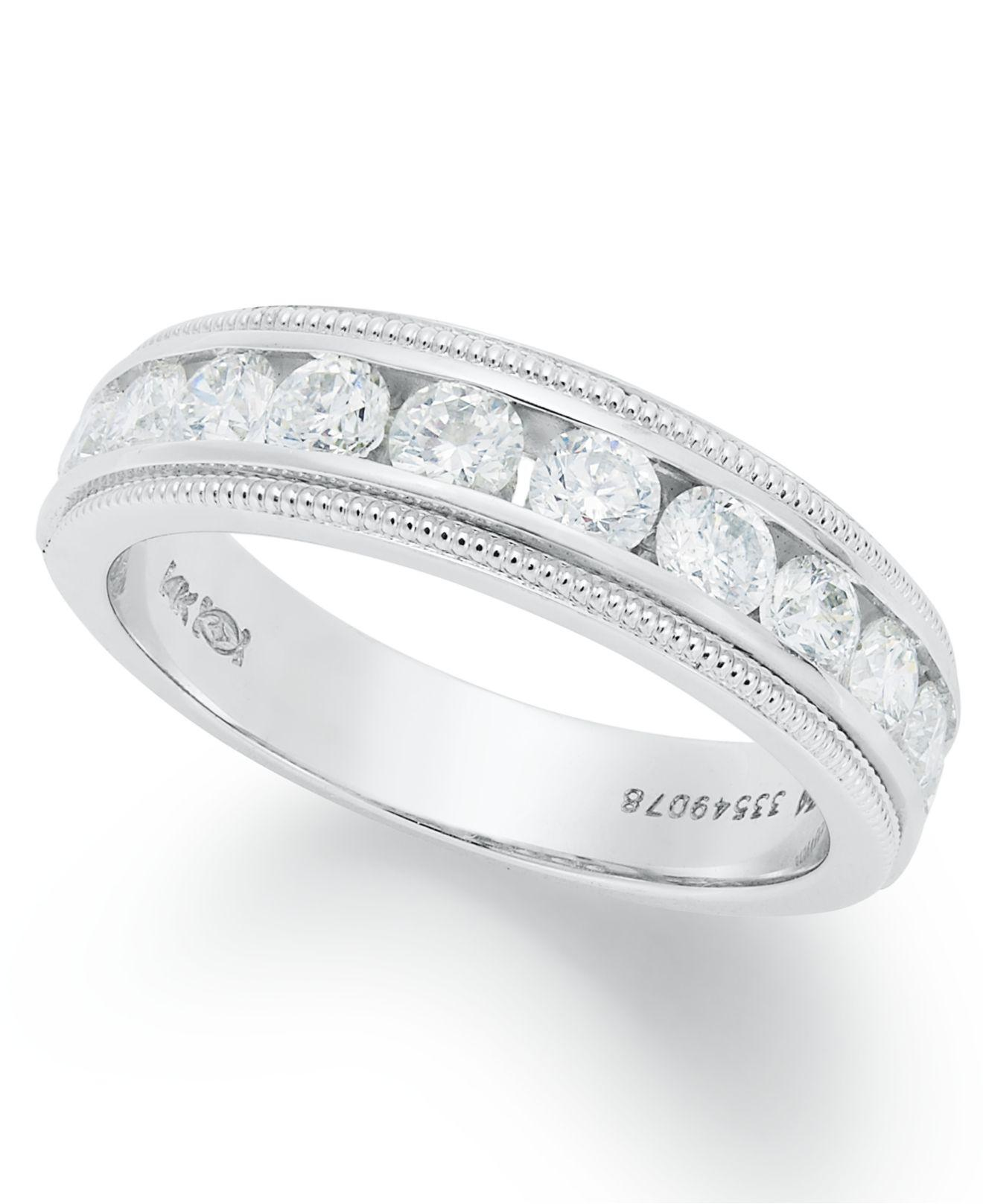 white si wedding diamond products band ags ctw in certified gold