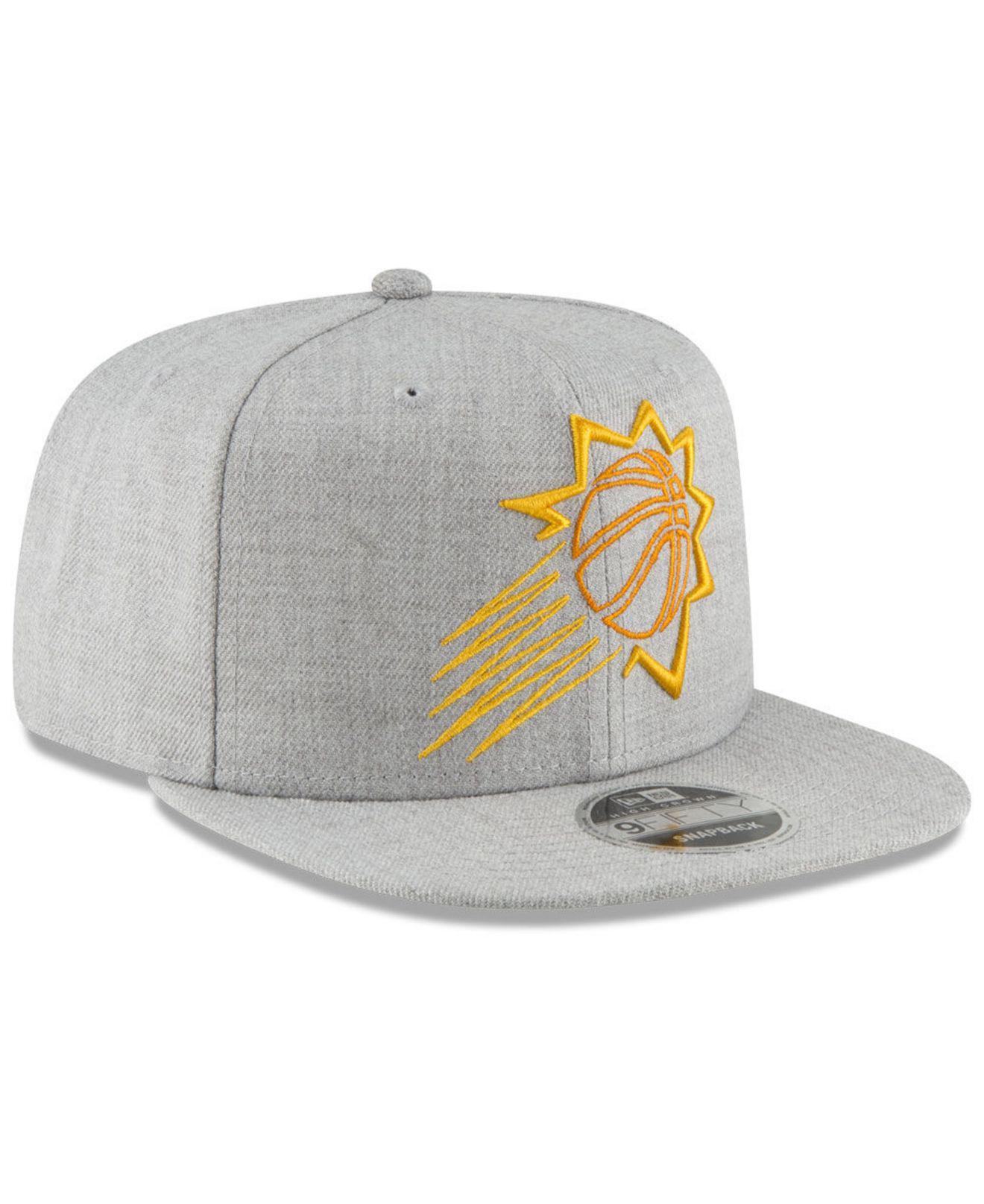 reputable site 77404 699fa ... Phoenix Suns Logo Trace 9fifty Snapback Cap for Men - Lyst. View  fullscreen