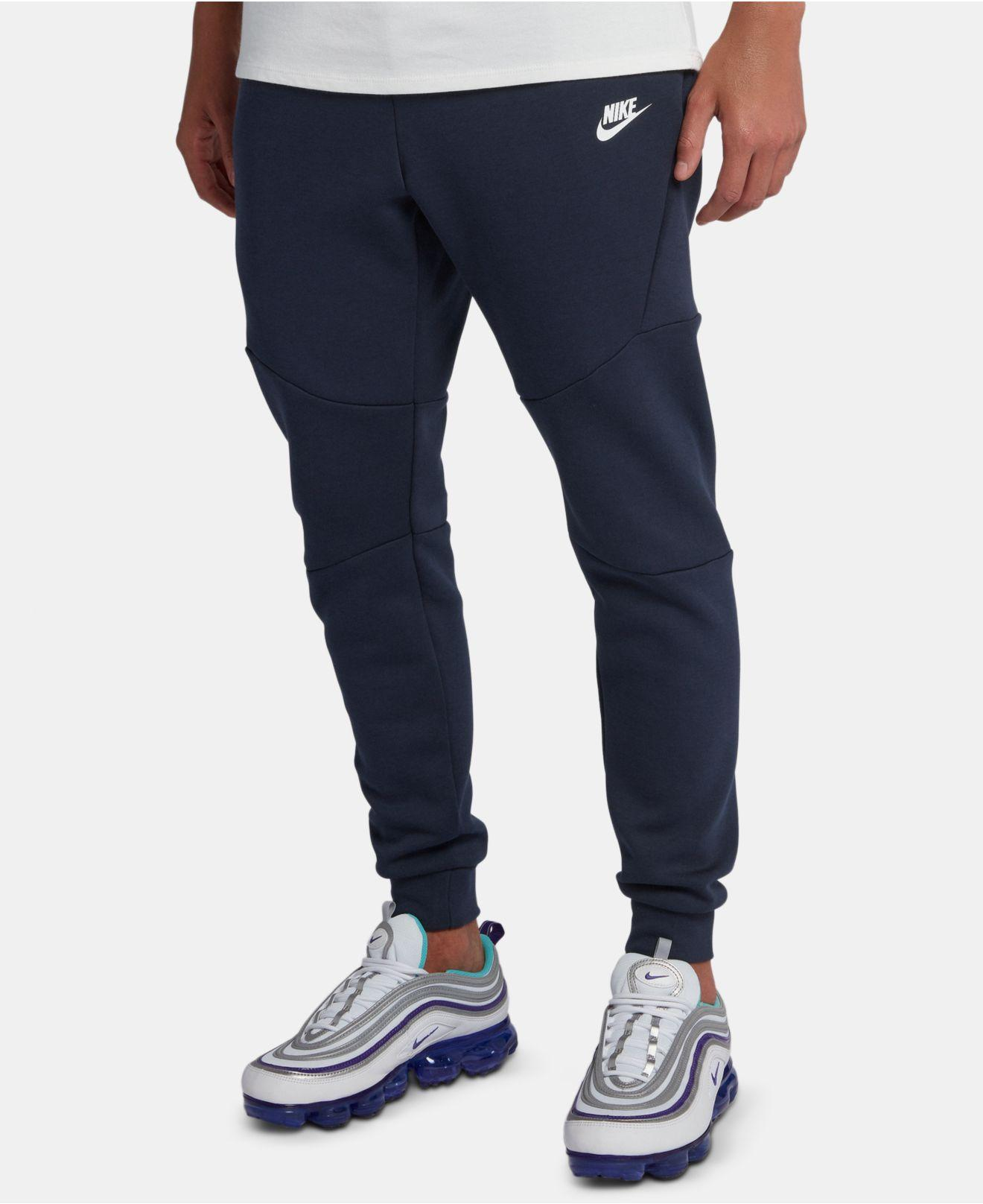 Nike Tech Fleece Jogger Pants In Blue For Men Save 32 Lyst