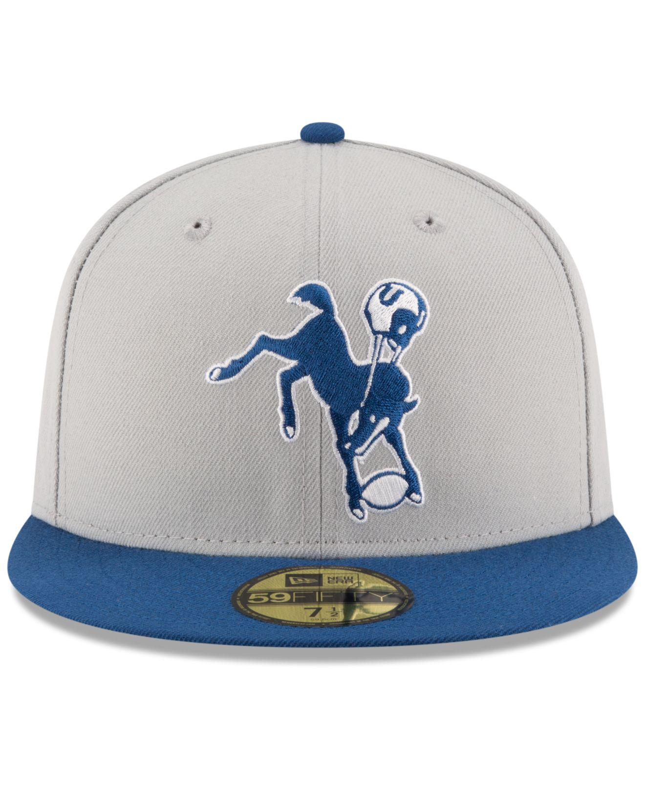 more photos 98dce 8023c Lyst - KTZ Indianapolis Colts Team Basic 59fifty Cap for Men