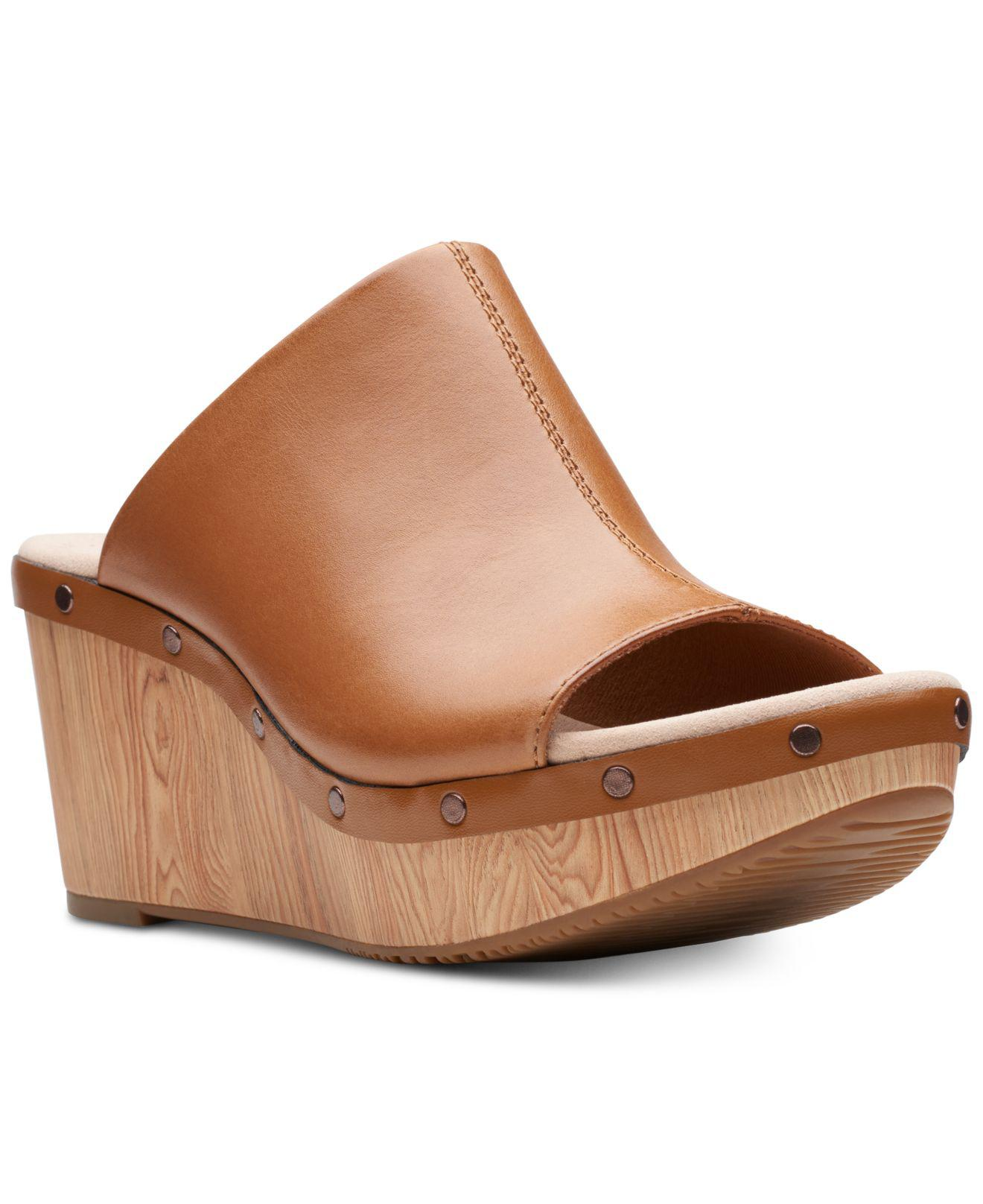 60d2ce3e6f22 Clarks Annadel Molly Wedge Sandals in Brown - Lyst