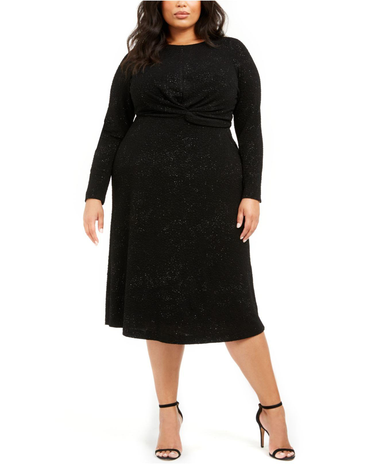 Plus Size Twist-waist Dress, Created For Macy\'s