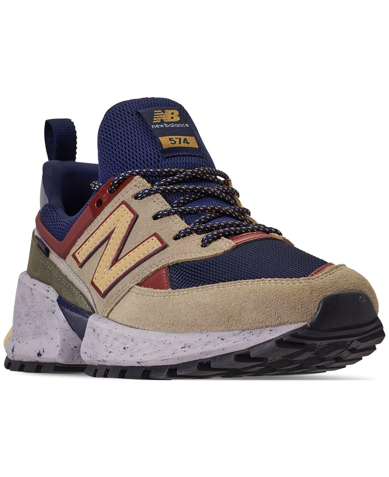 5a52af8c72cc9 New Balance Blue 574 Sport V2 Casual Sneakers From Finish Line for men