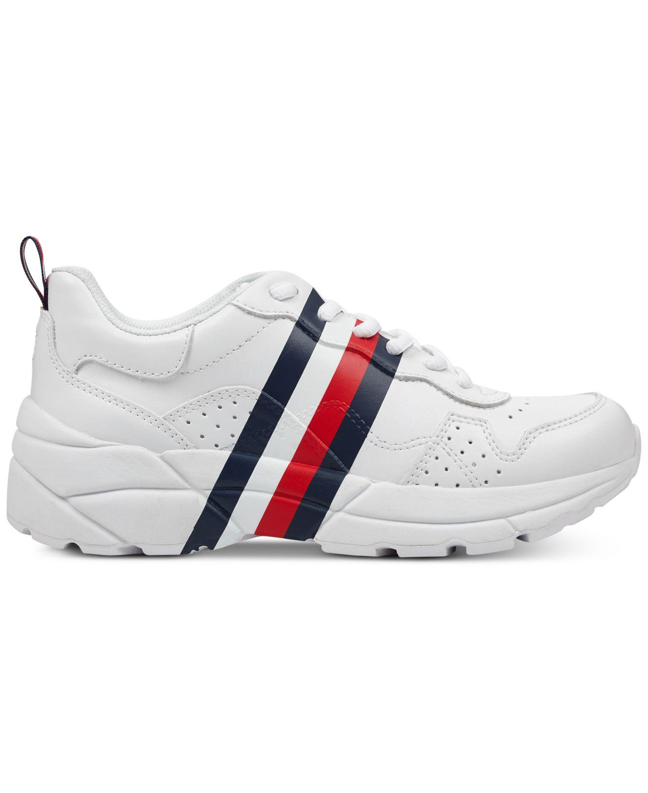 b8448c6063e081 Lyst - Tommy Hilfiger Envoy Sneakers in White