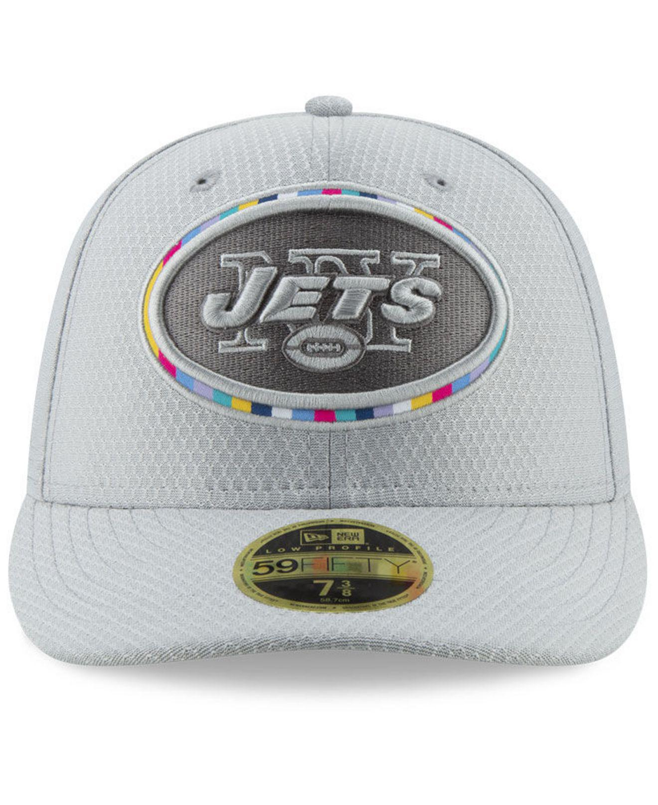 d74aa3ba11c Lyst - KTZ New York Jets Crucial Catch Low Profile 59fifty Fitted Cap in  Gray for Men