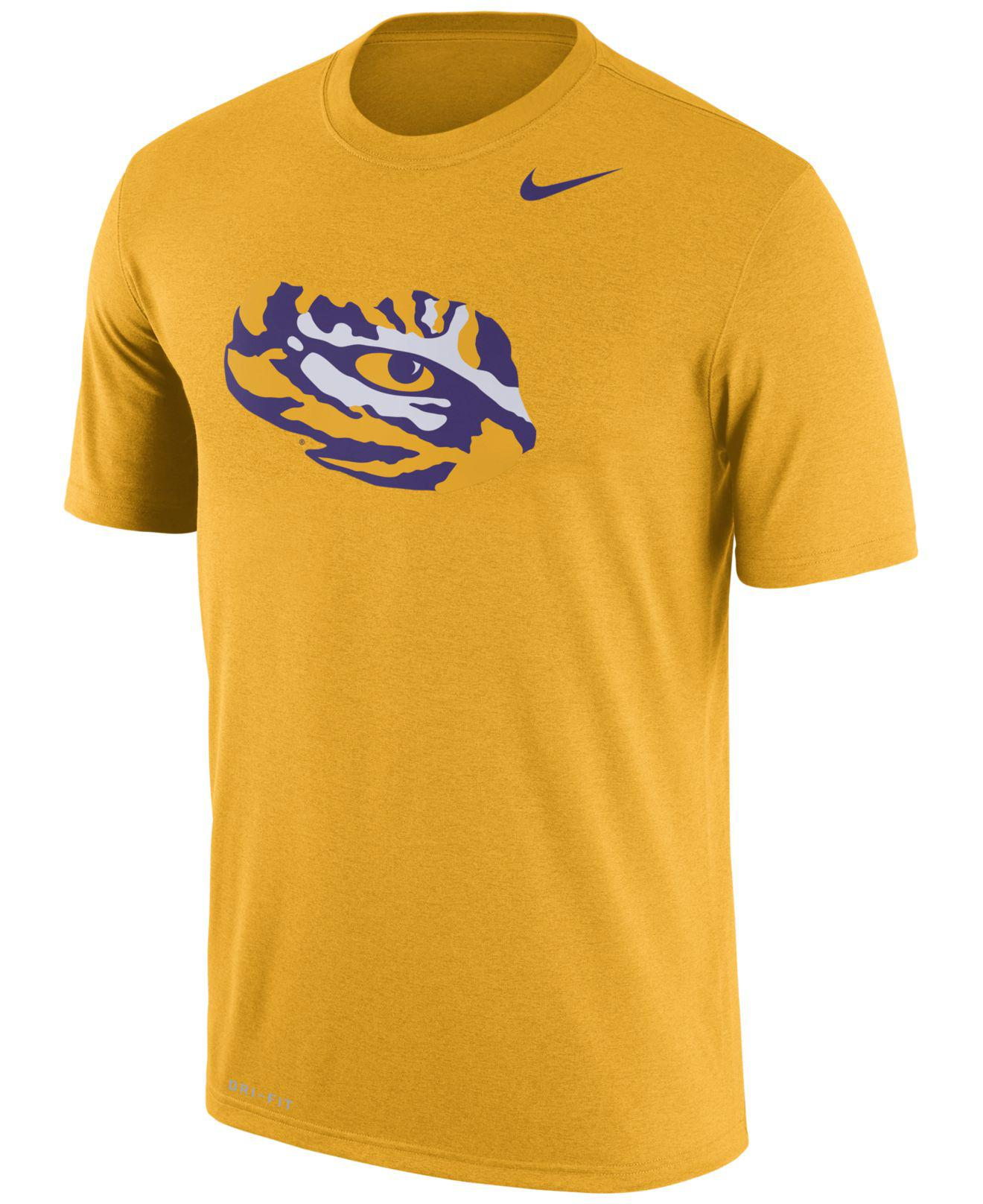 52992a74 Lyst - Nike Men's Lsu Tigers Legend Icon T-shirt in Yellow for Men