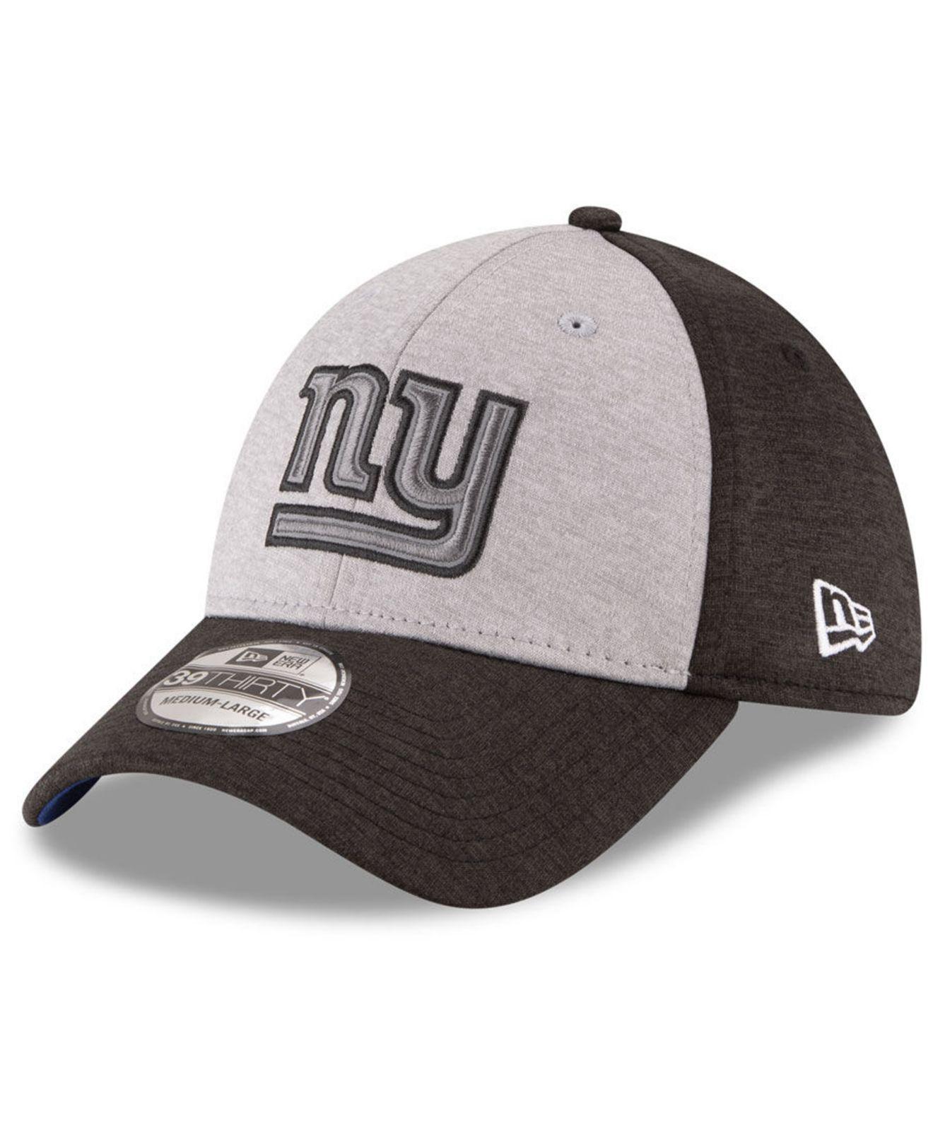 0a9edcf8960 Lyst - Ktz New York Giants Ref Logo 39thirty Cap in Gray for Men