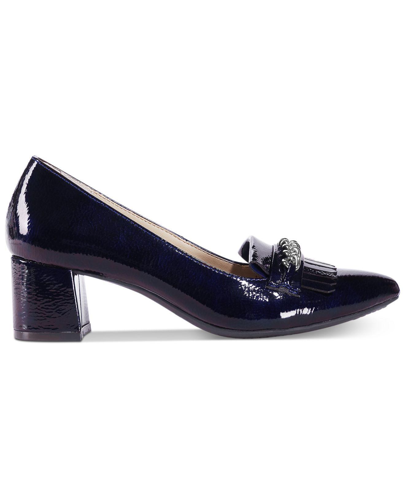 336dadaa88b Lyst - Rialto Marshall Block-heel Dress Pumps in Blue