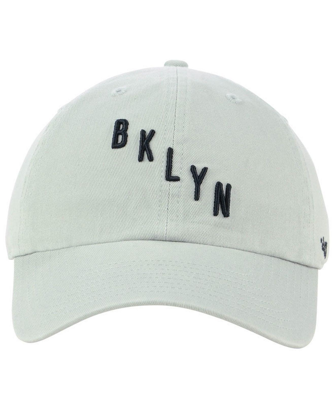 lower price with 8cd79 21199 Lyst - 47 Brand Brooklyn Nets Mash Up Clean Up Cap in Gray for Men