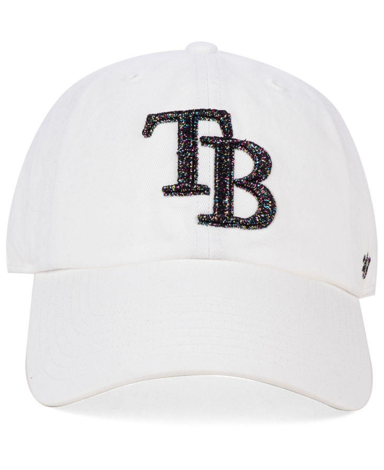 popular stores new york online shop 47 Brand Cotton Tampa Bay Rays Galactic Clean Up Cap in White for ...