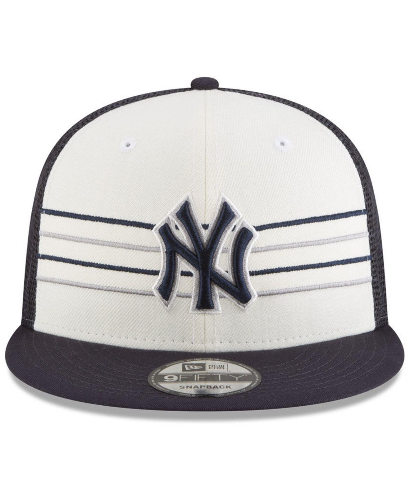 best sneakers 6927f 8c71a ... free shipping lyst ktz new york yankees vintage stripe 9fifty snapback  cap for men 07034 7478e