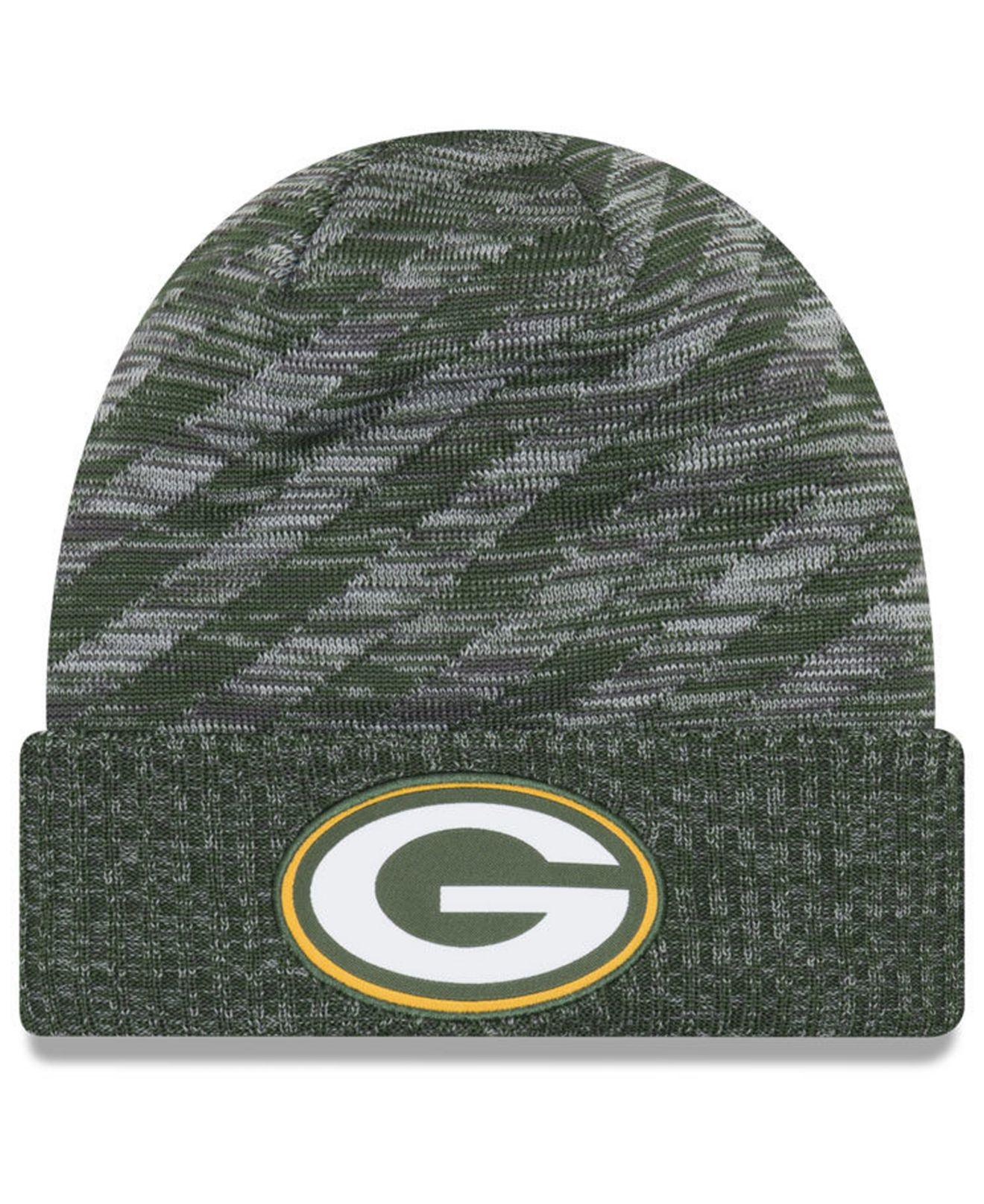 89f0f8d98 Men's Green Bay Packers Touch Down Knit Hat