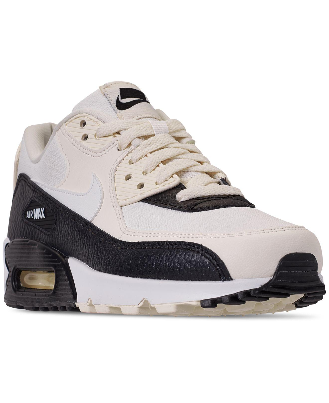 the latest f867f 11861 Nike. Women s White Air Max 90 Casual Sneakers From Finish Line