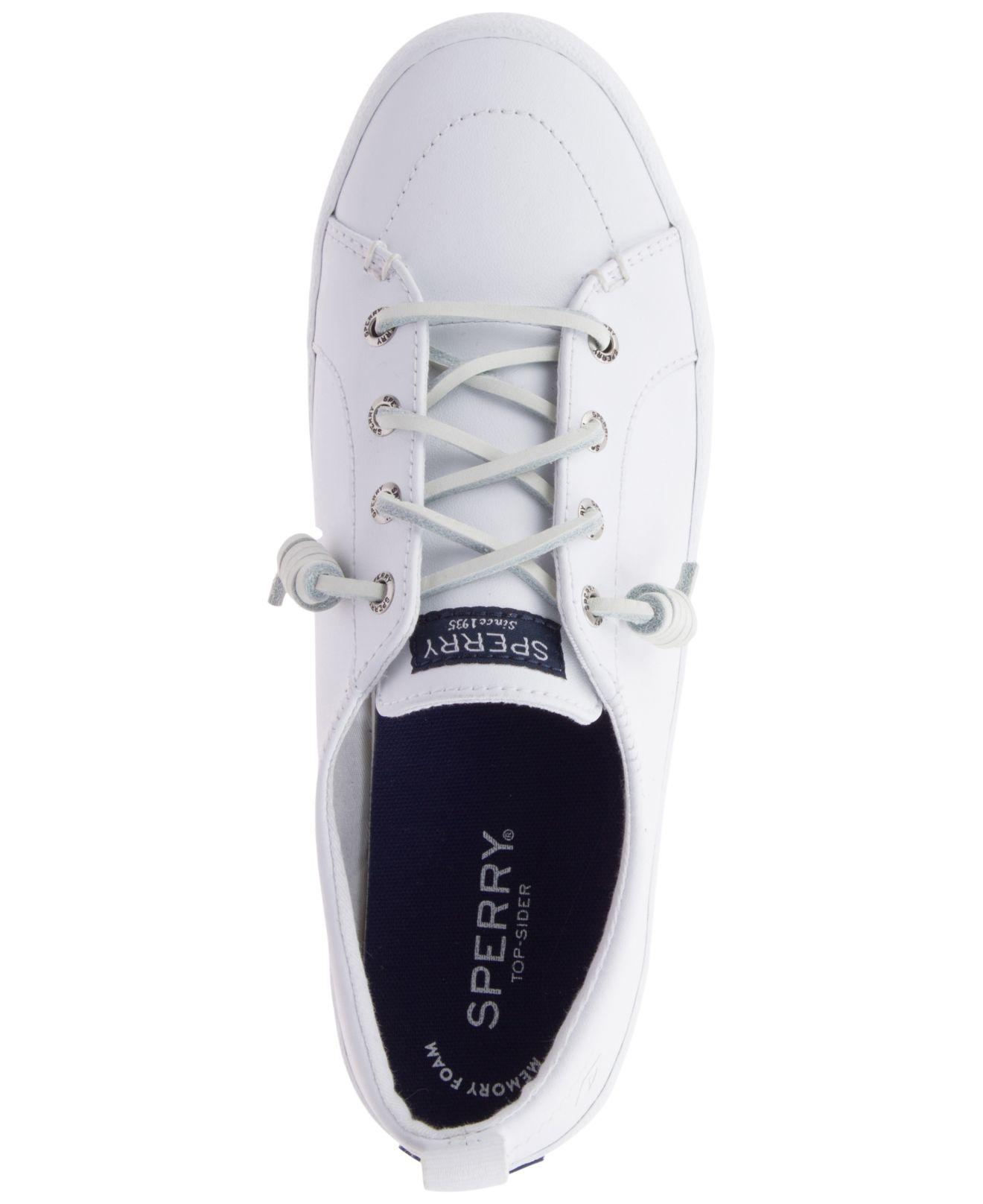 sale online pretty cheap official site Sperry Top-Sider Crest Vibe Leather Sneakers, Created For Macy's ...