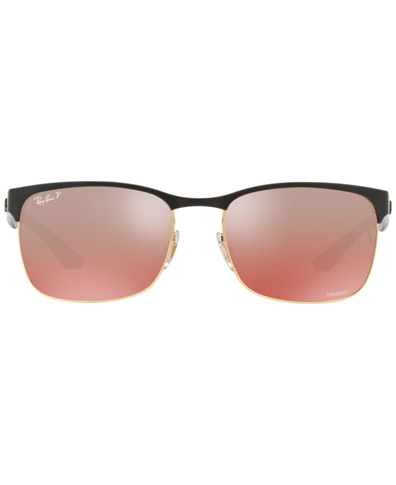 a8004d210a Lyst - Ray-Ban Polarized Sunglasses