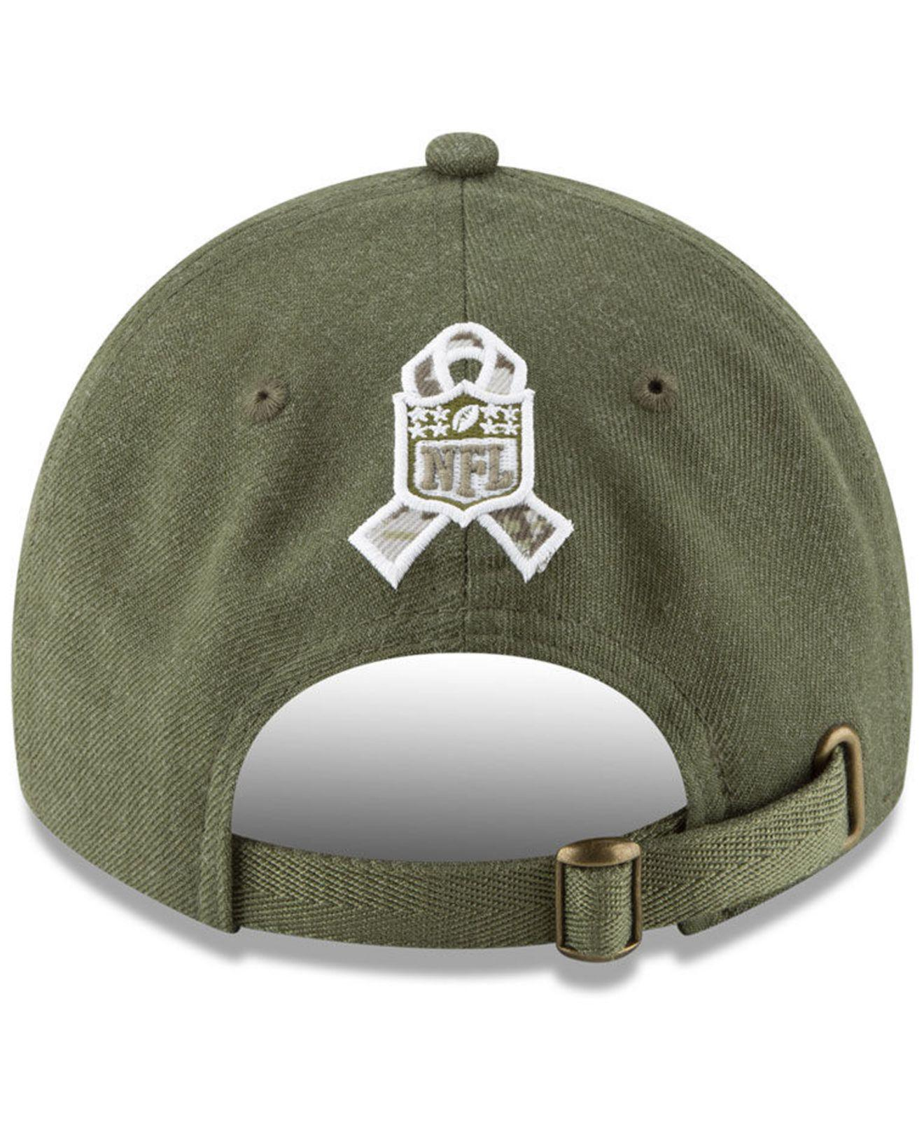 brand new ab6c9 57c9e Lyst - KTZ Arizona Cardinals Salute To Service 9twenty Cap in Green for Men  - Save 40%