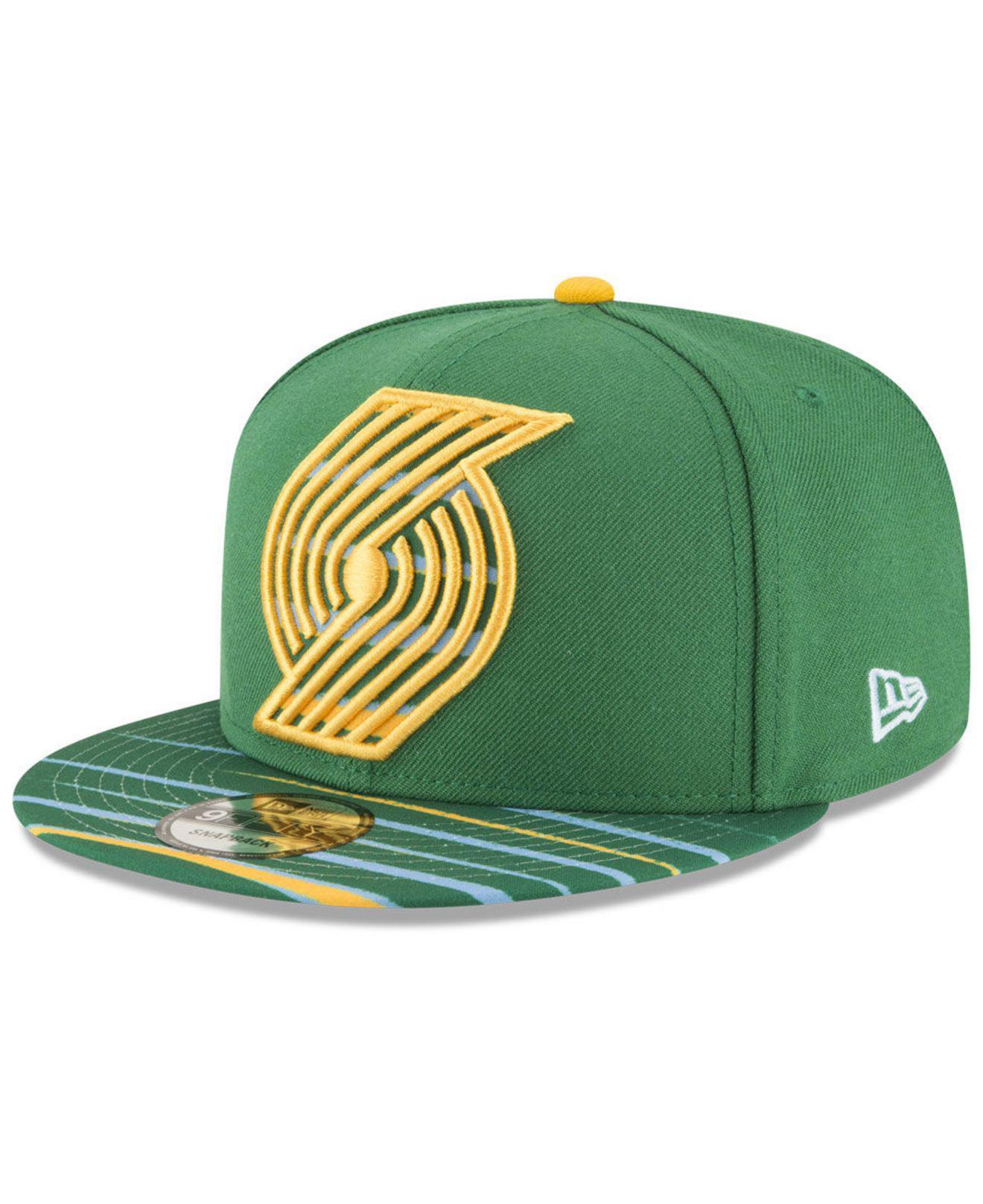 best loved 4b8bd 6fd3b ... sweden portland trail blazers city flag 9fifty snapback cap for men lyst.  view fullscreen 0d036