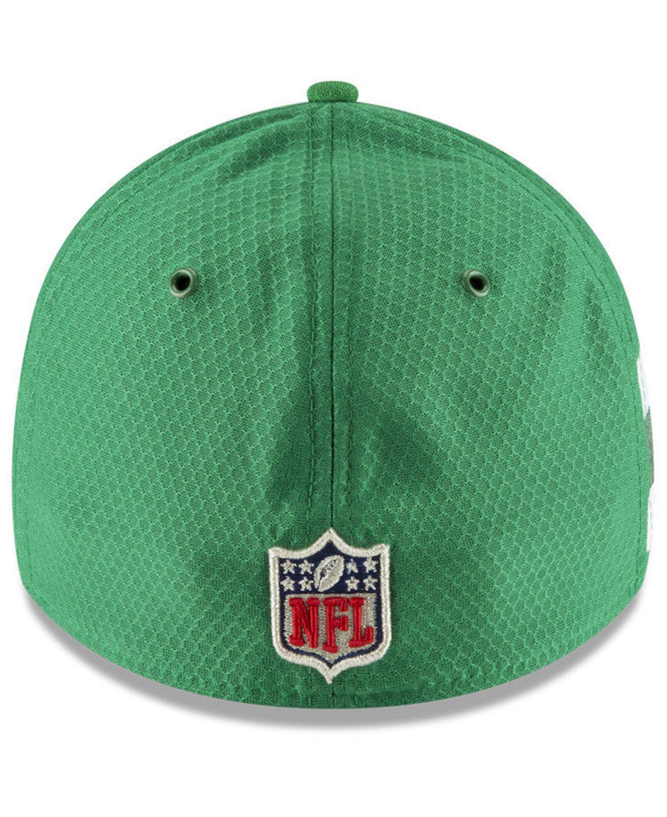 e51a4644e Lyst - KTZ New York Jets Official Color Rush 39thirty Stretch Fitted ...