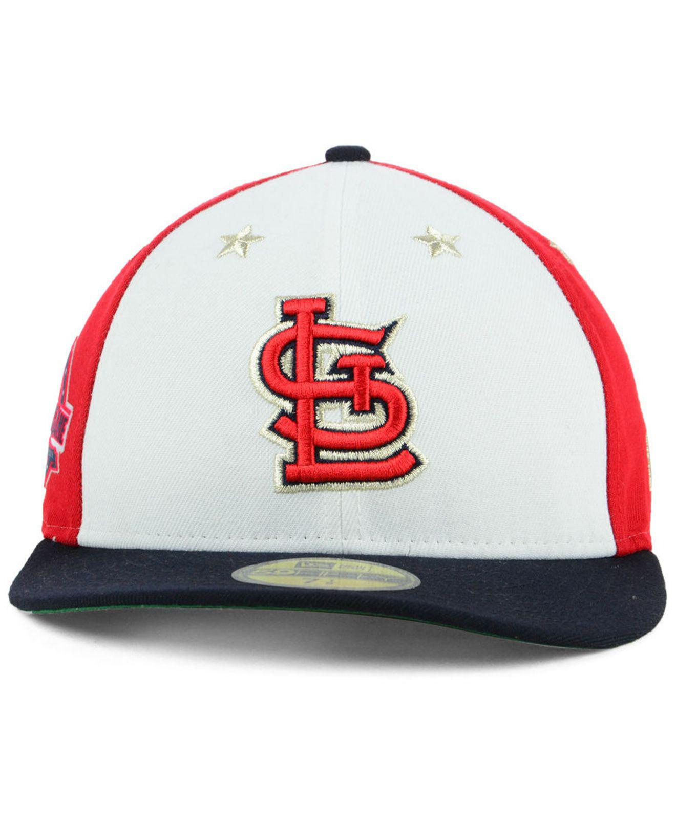 newest c2970 70d22 ... reduced lyst ktz st. louis cardinals all star game patch low profile 59fifty  fitted cap