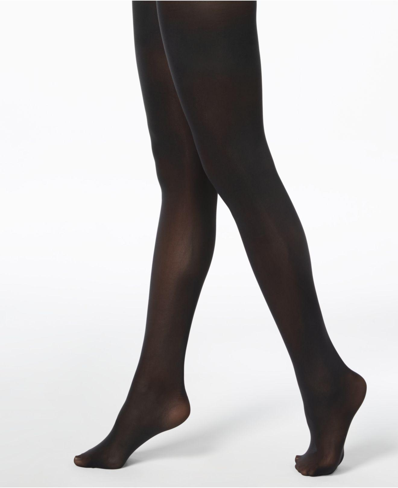 INC International Concepts Tights Striped Mock Thigh-High Tights