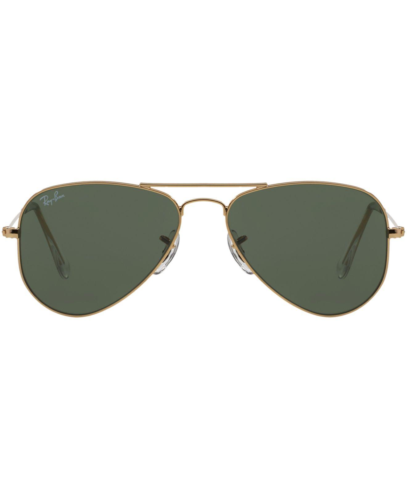 e25d9ede6c191 Lyst - Ray-Ban Rb3044 Small Aviator Sunglasses in Gray