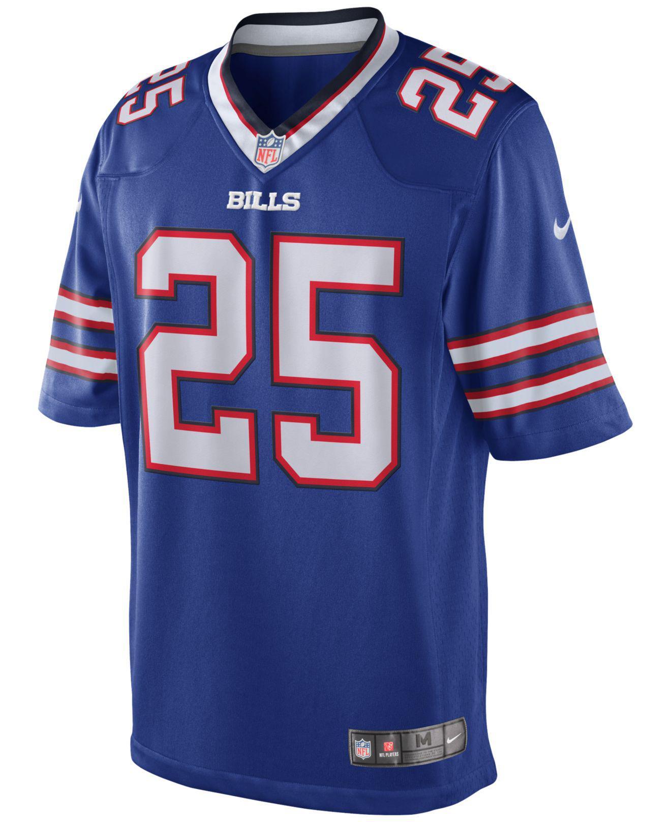 fbfa210e70a28 Lyst - Nike Men's Lesean Mccoy Buffalo Bills Limited Jersey in Blue ...