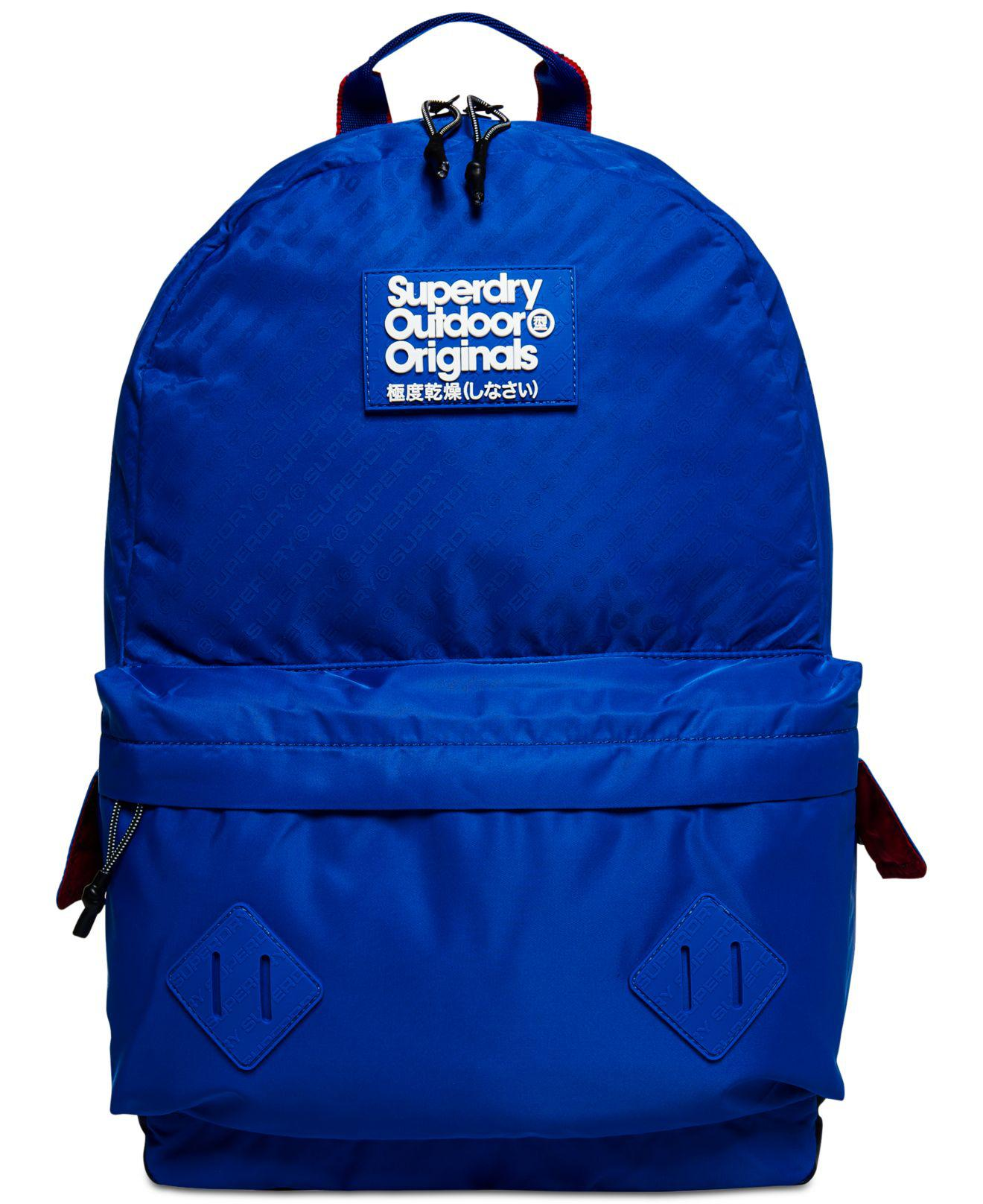 9f573731c0a Lyst - Superdry Hamilton Montana Backpack in Blue for Men