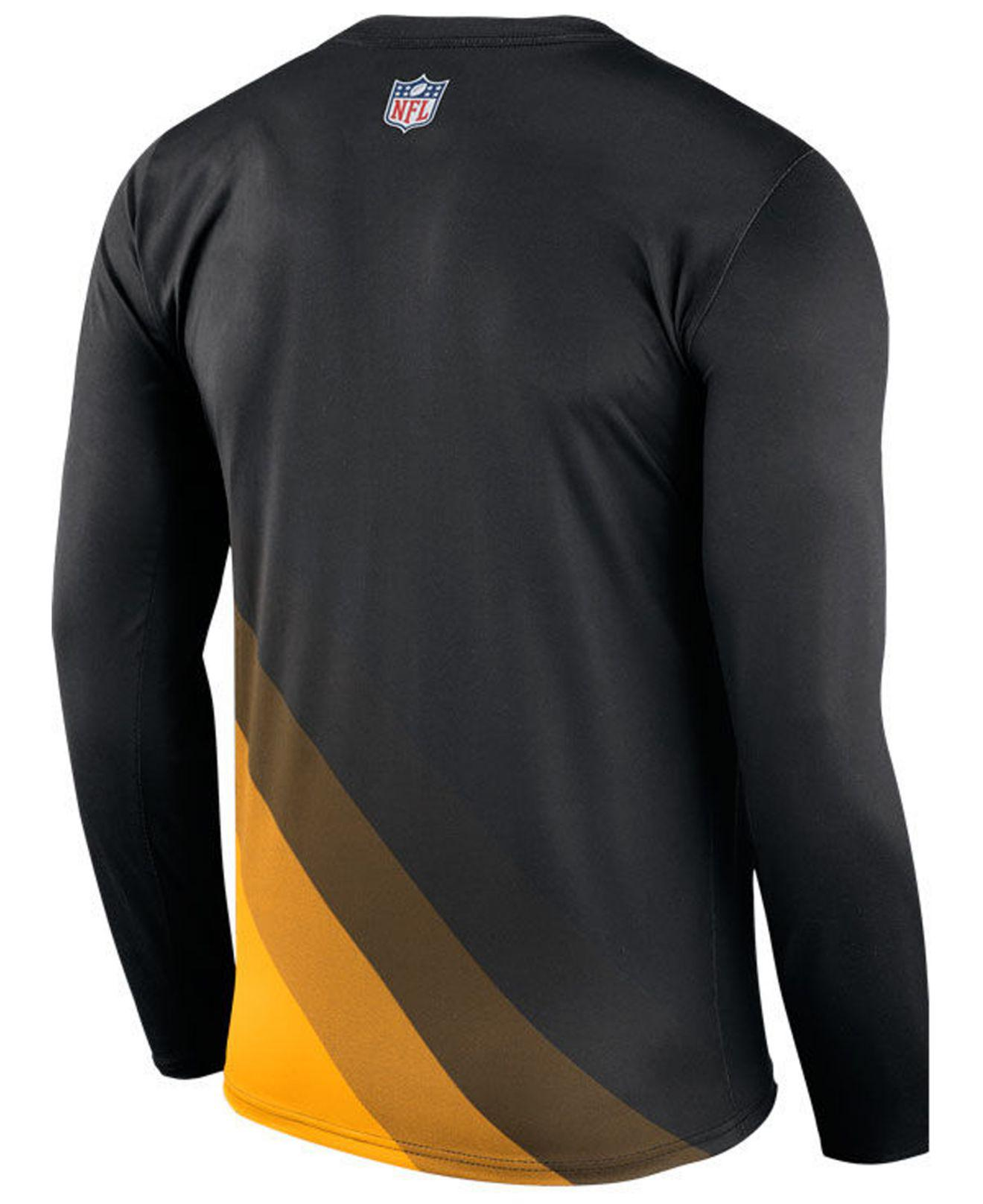Lyst - Nike Pittsburgh Steelers Legend Prism Long Sleeve T-shirt in ... 6a3a68283