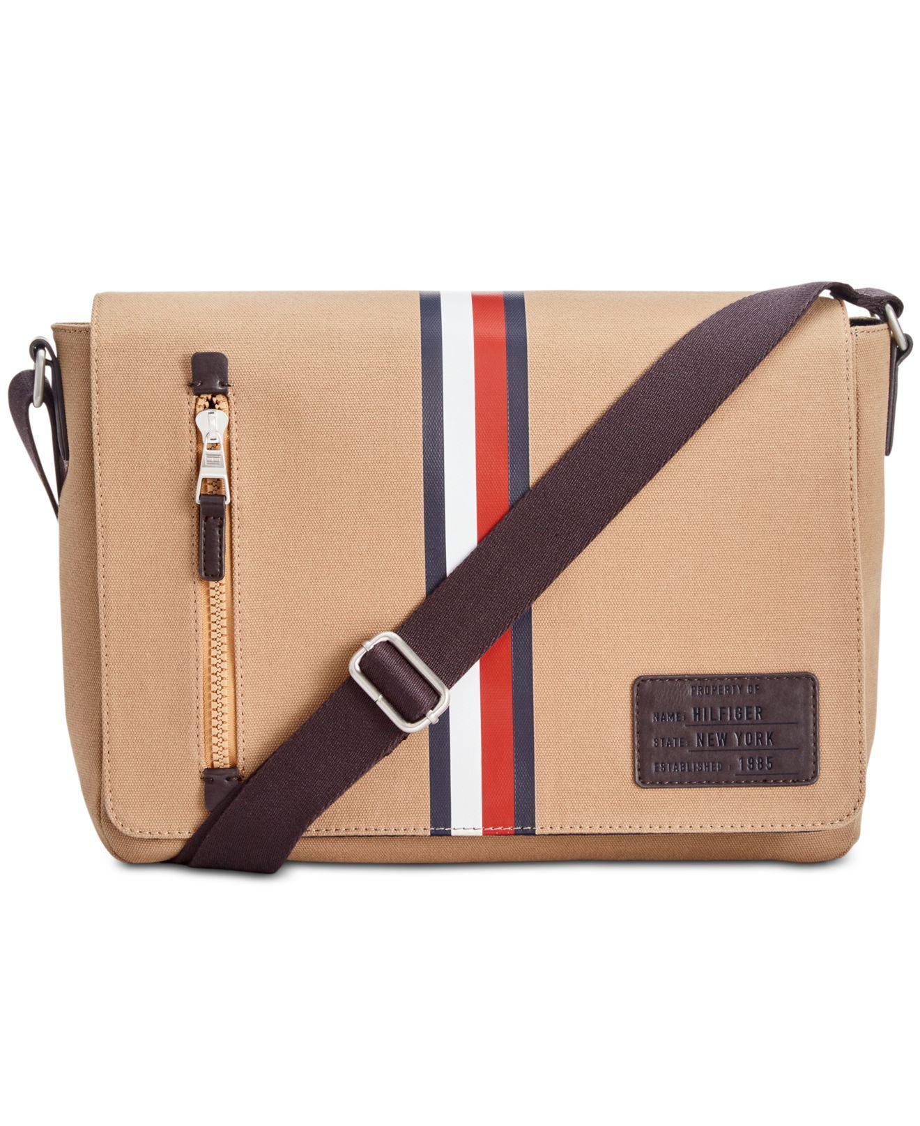 b3e2a2c1a7 Tommy Hilfiger Harrison Messenger Bag for Men - Lyst