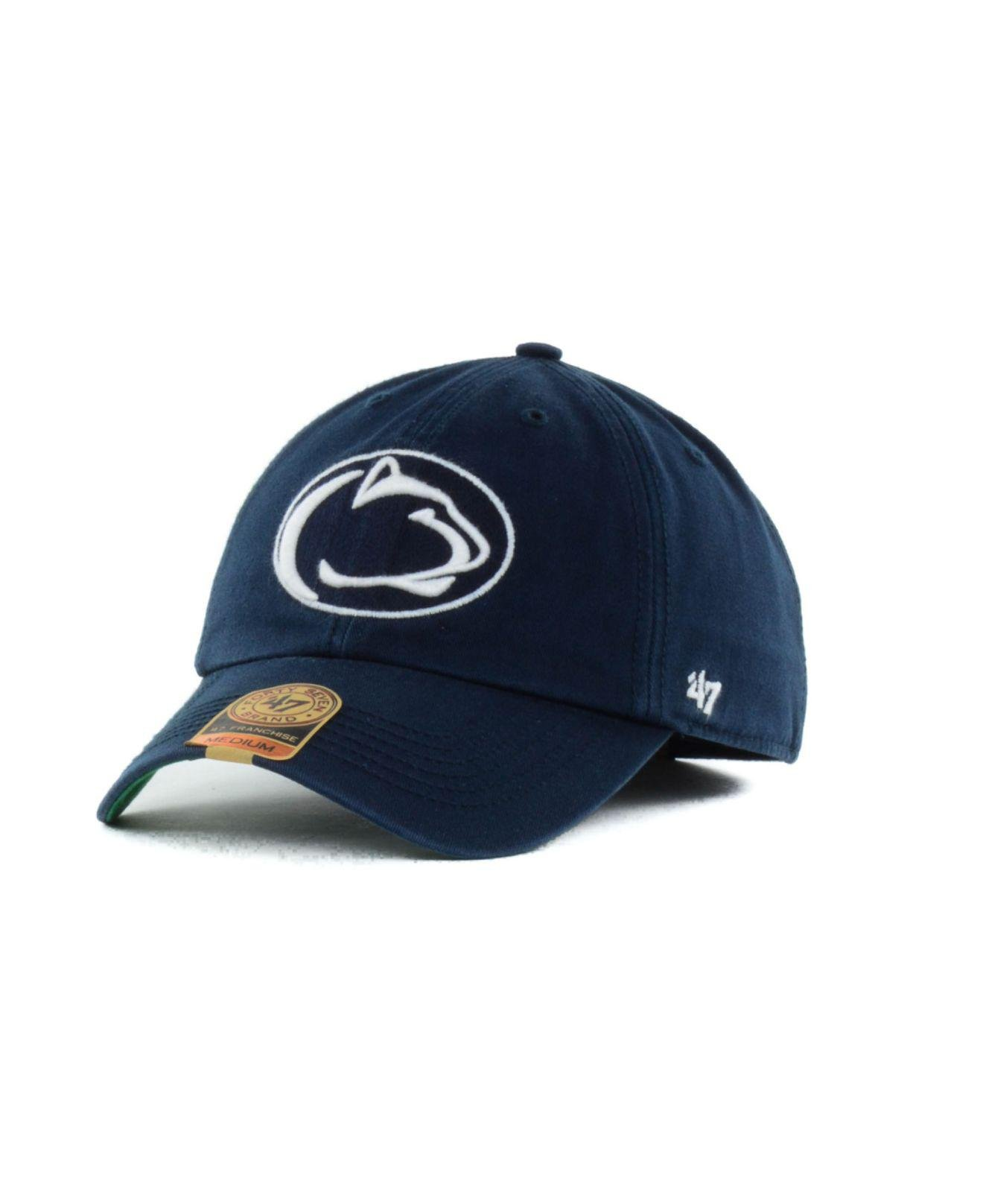 d5fdb53b0519d Lyst - 47 Brand Penn State Nittany Lions Ncaa  47 Franchise Cap in ...