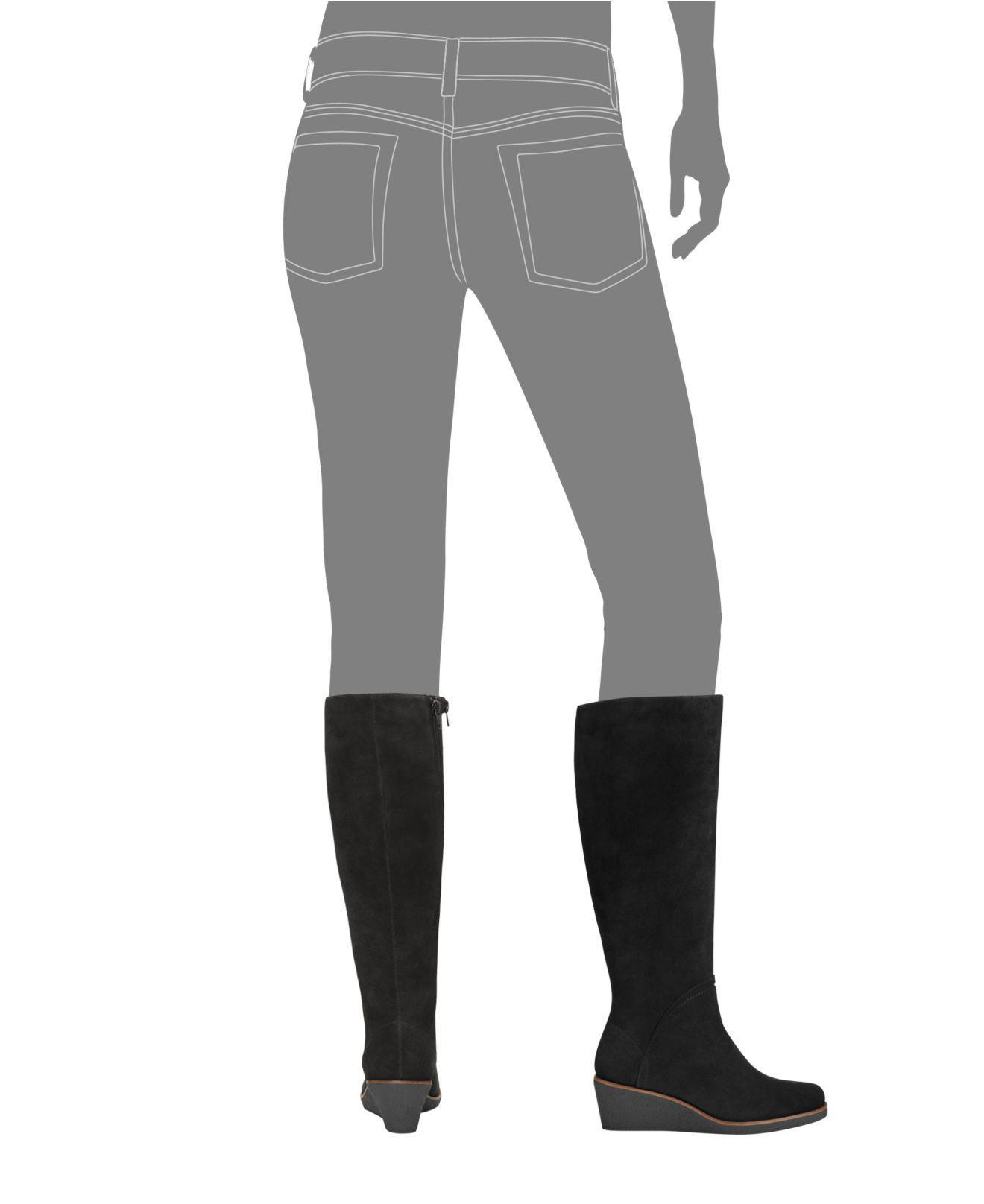 Lyst Aerosoles Binocular Cold Weather Boots In Black
