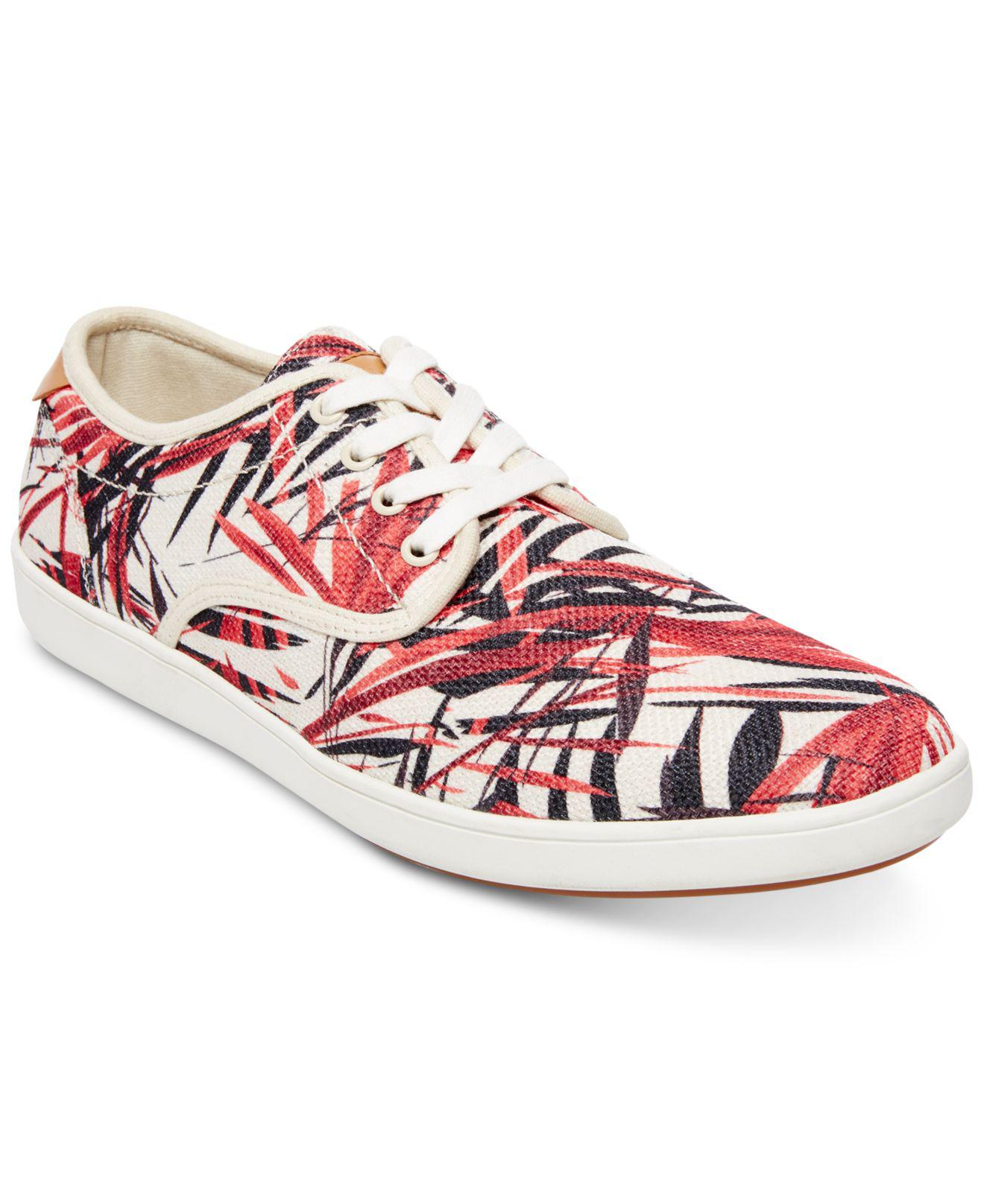 9dfd643b4ab Lyst - Steve Madden Florider Sneakers in Red