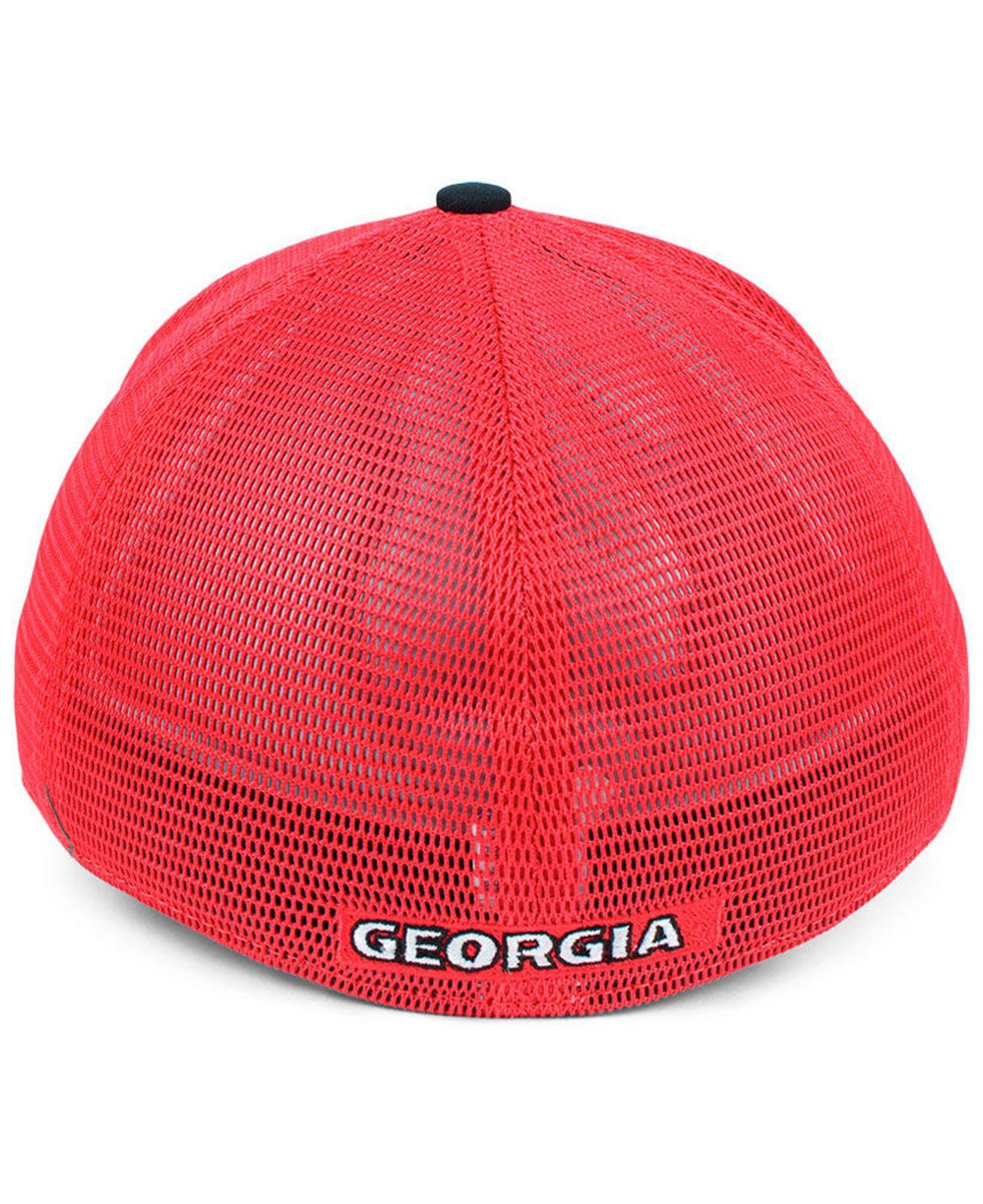 finest selection 70a70 6d2a6 Nike - Red Georgia Bulldogs Col Aro Swooshflex Cap for Men - Lyst. View  fullscreen