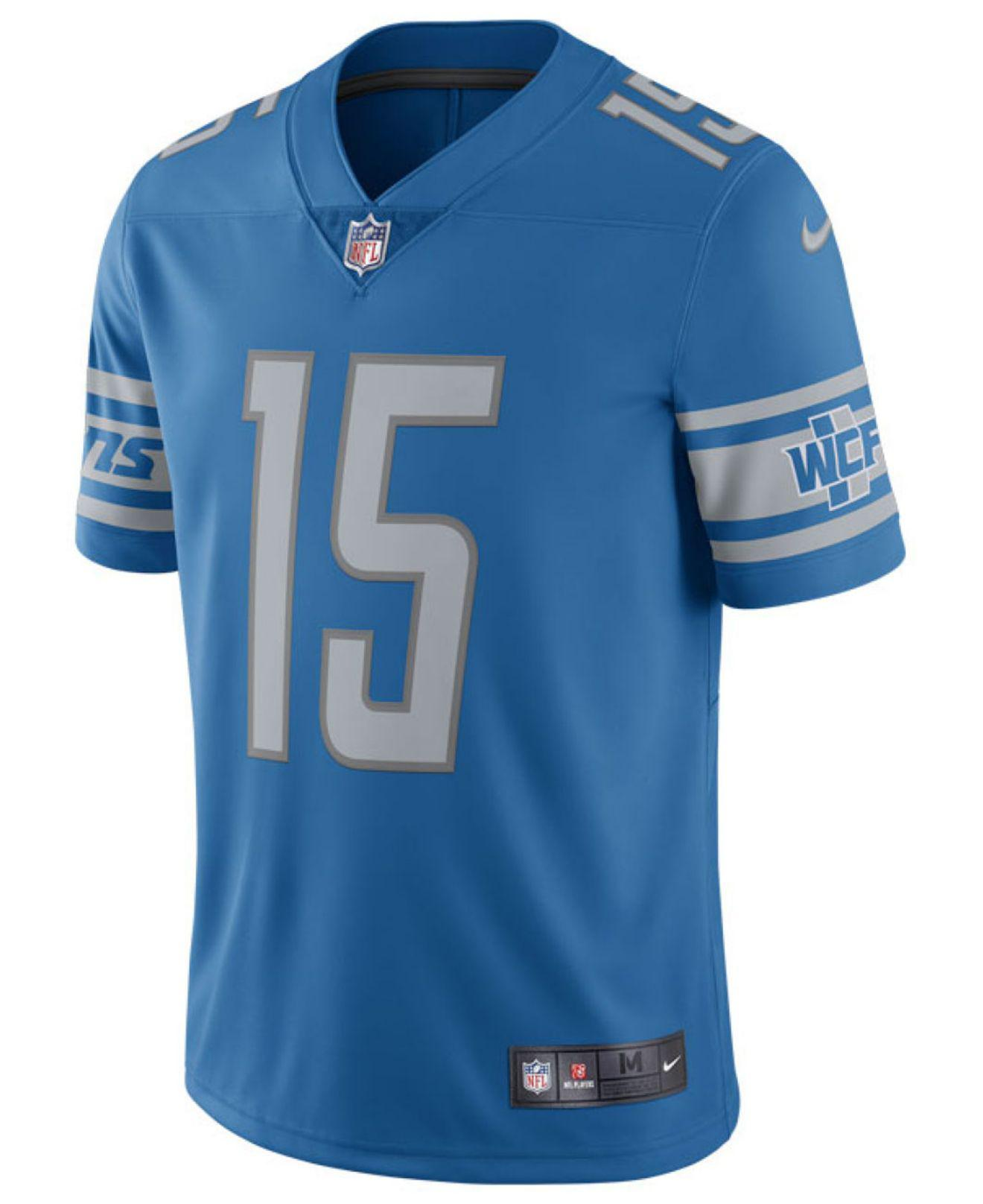 Lyst - Nike Golden Tate Detroit Lions Vapor Untouchable Limited Jersey in  Blue for Men f2952f290