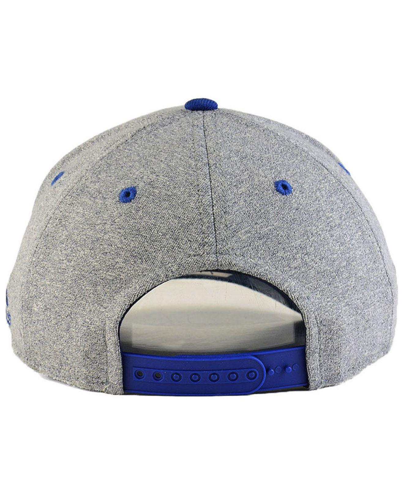 new styles b16bd 26370 ... inexpensive adidas blue vancouver canucks heather line change cap for  men lyst. view fullscreen 1687e