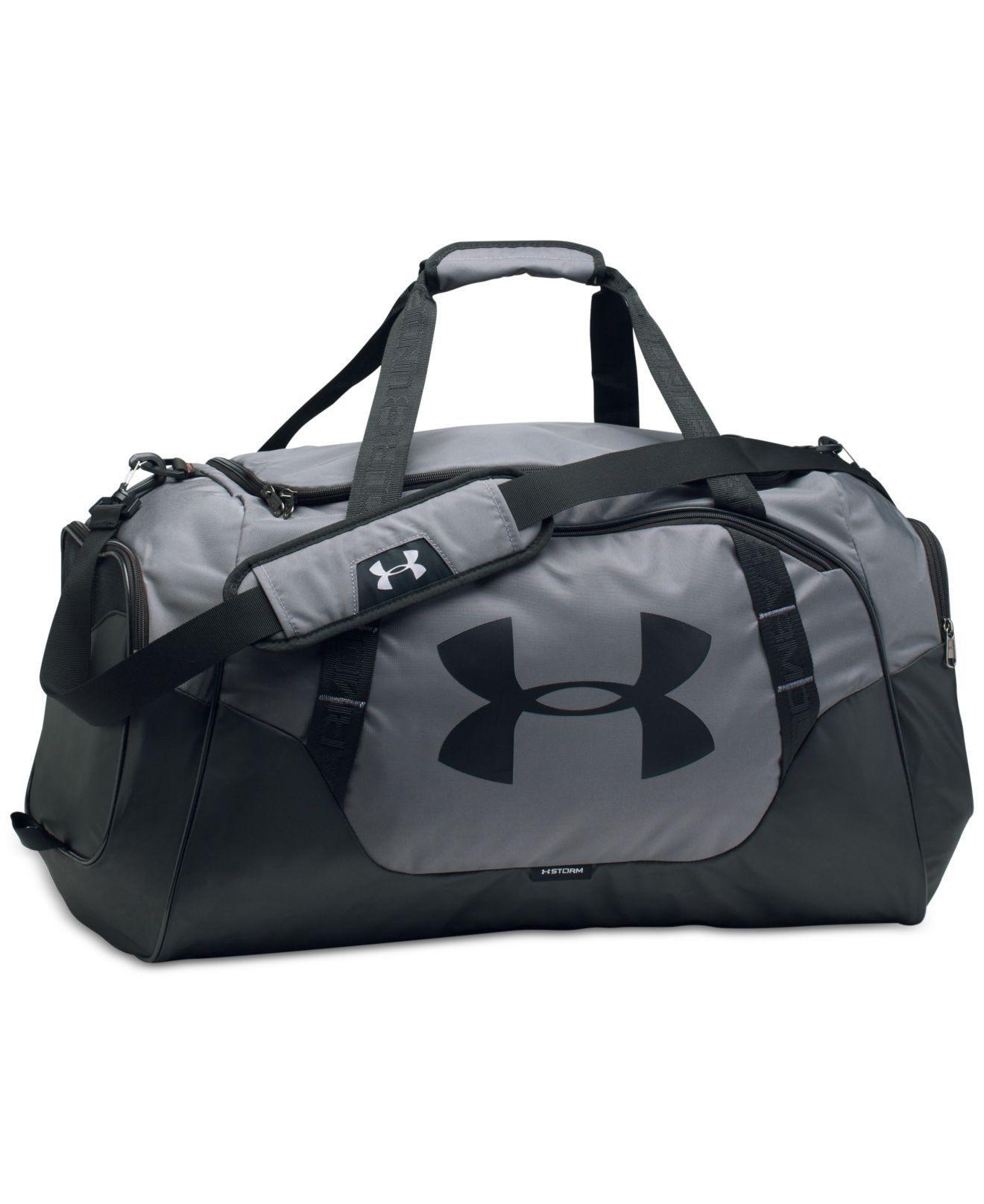 Lyst - Under Armour Undeniable Storm Duffel Bag in Gray for Men f2f57e3e7799e