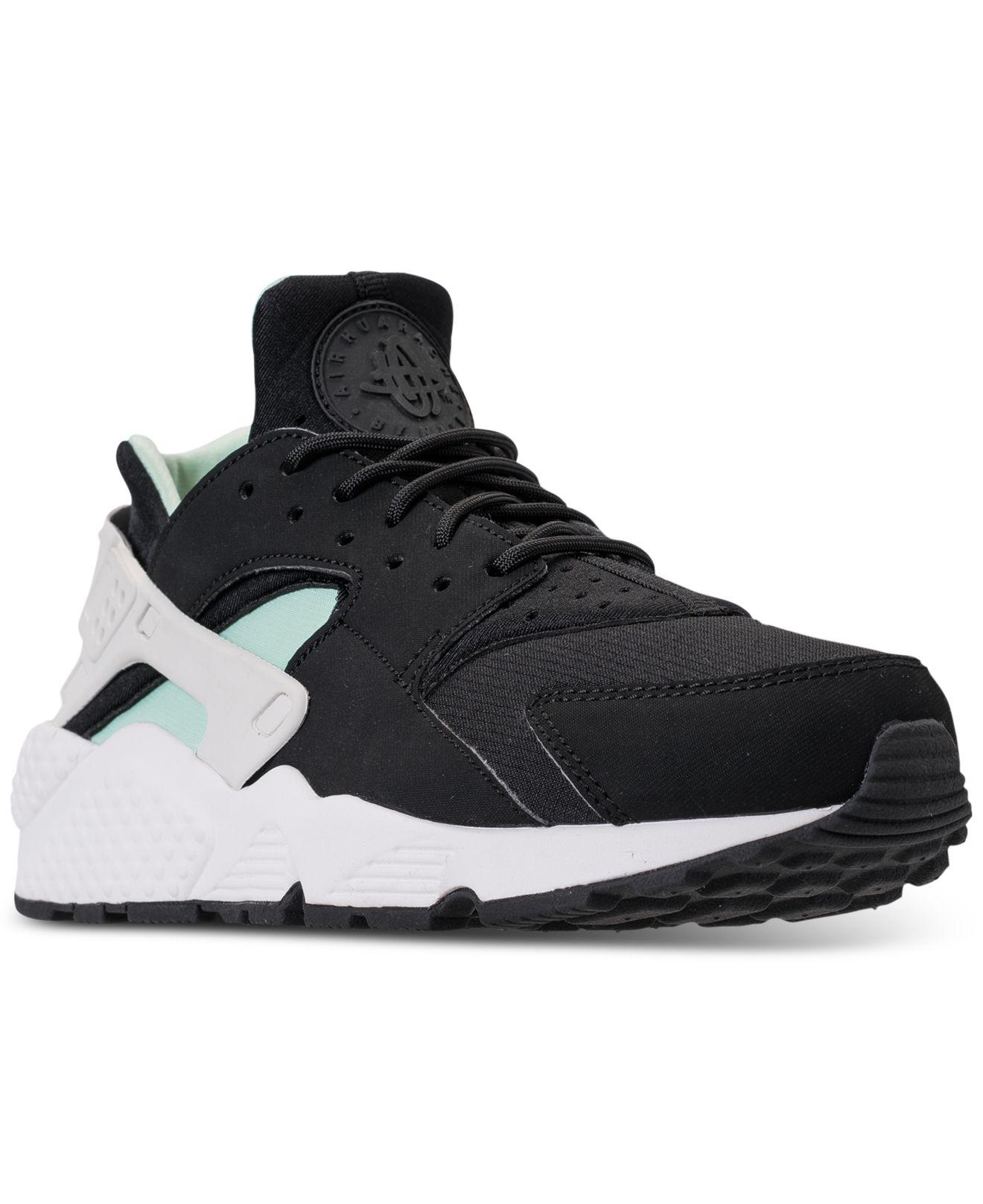 1e0110f20f04 Lyst - Nike Air Huarache Run Running Sneakers From Finish Line in Black