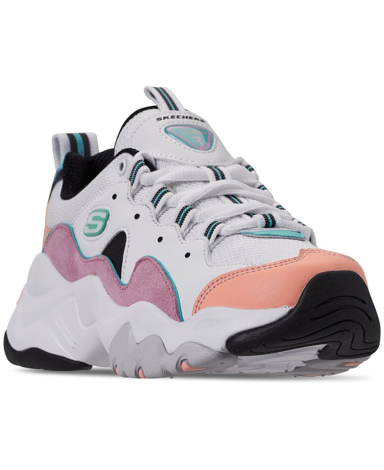 estética de lujo orden calzado Skechers Rubber D'lite Chunky Trainers 3.0 In Pastel - Lyst