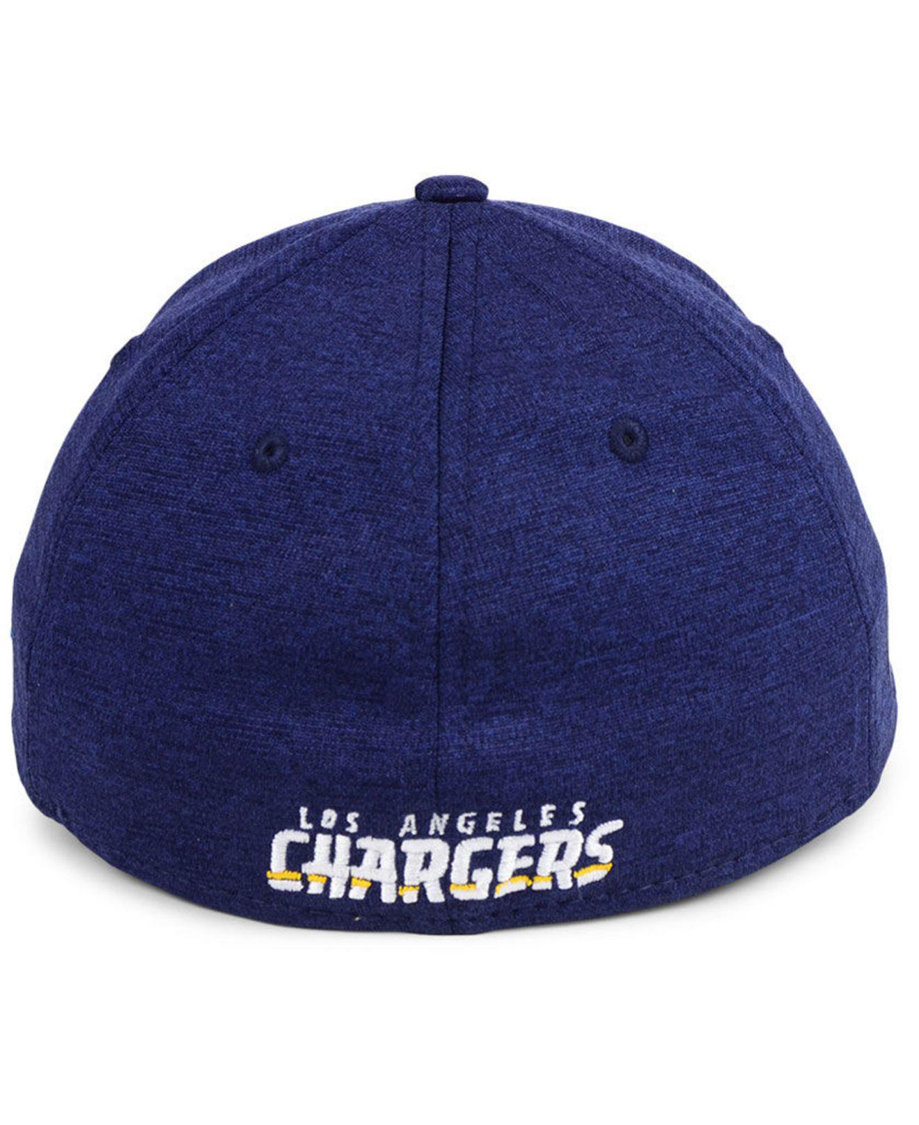 68af1746d84 KTZ - Blue Los Angeles Chargers Oversized Laser Cut Logo 39thirty Cap for  Men - Lyst. View fullscreen