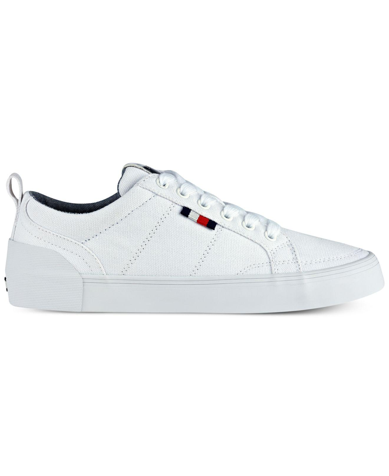 1df98cf9e Lyst - Tommy Hilfiger Priss Lace-up Sneakers in White