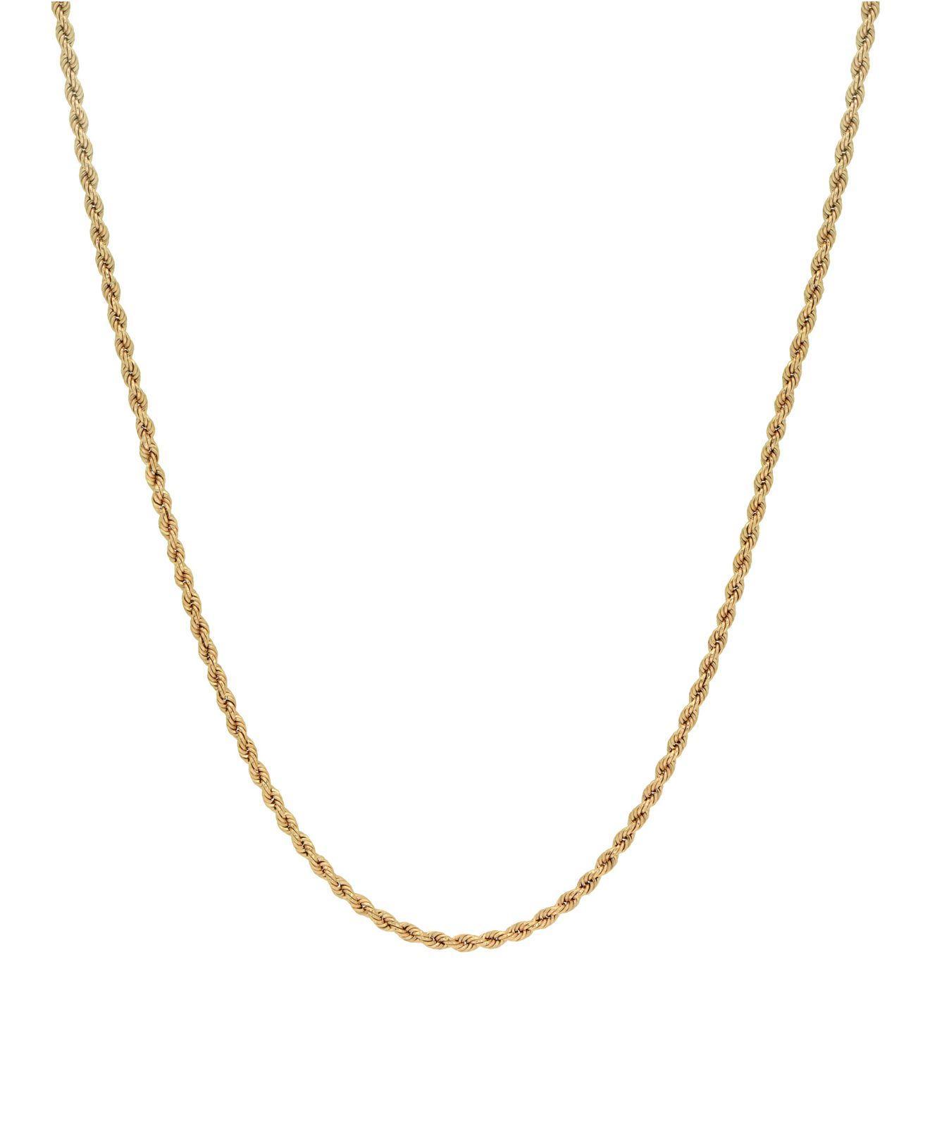 400c37faf5527 Women's Metallic Rope Link 22