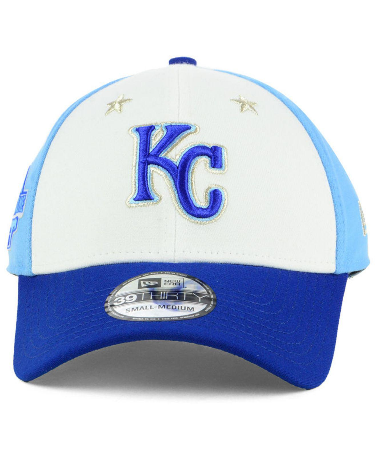b41a1c8f02d Lyst - KTZ Kansas City Royals All Star Game 39thirty Stretch Fitted Cap  2018 in Blue for Men