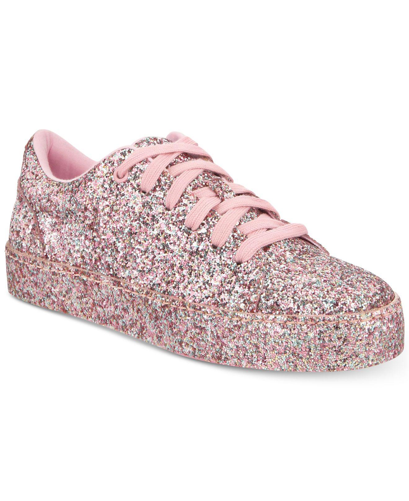 ALDO Etilivia Sneaker in Pink Glitter