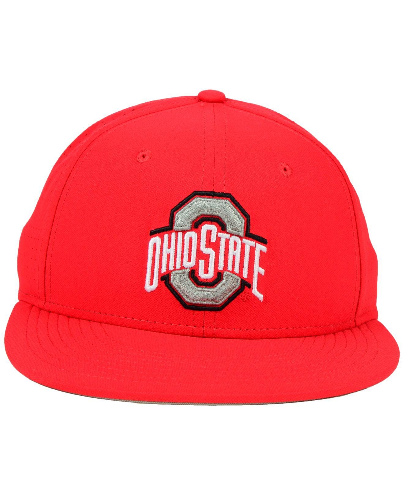 3876f1909d4 Lyst - Nike Ohio State Buckeyes True Vapor Fitted Cap in Red for Men