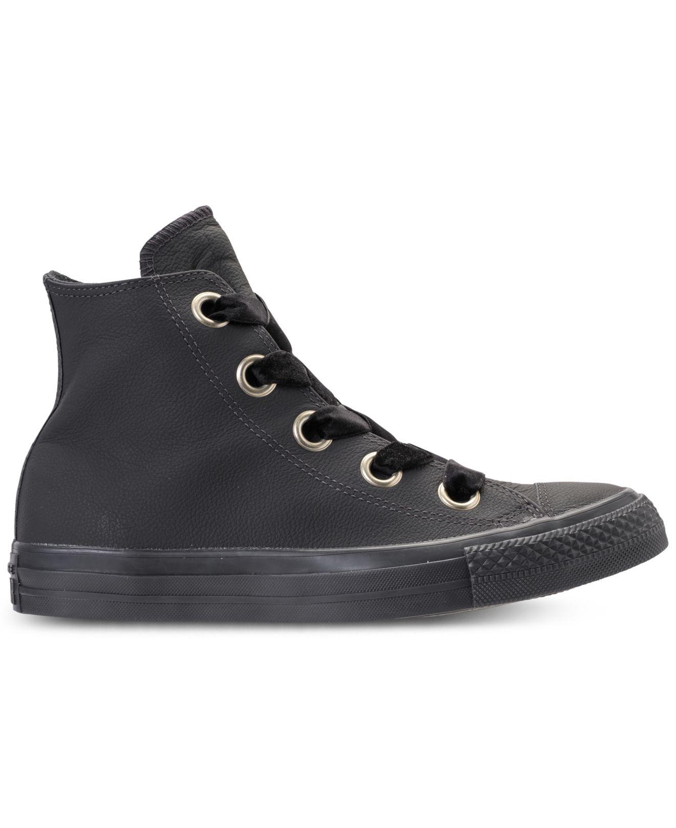 Lyst - Converse Chuck Taylor Big Eyelets High Top Casual Sneakers From  Finish Line in Black - Save 20% 332a354200